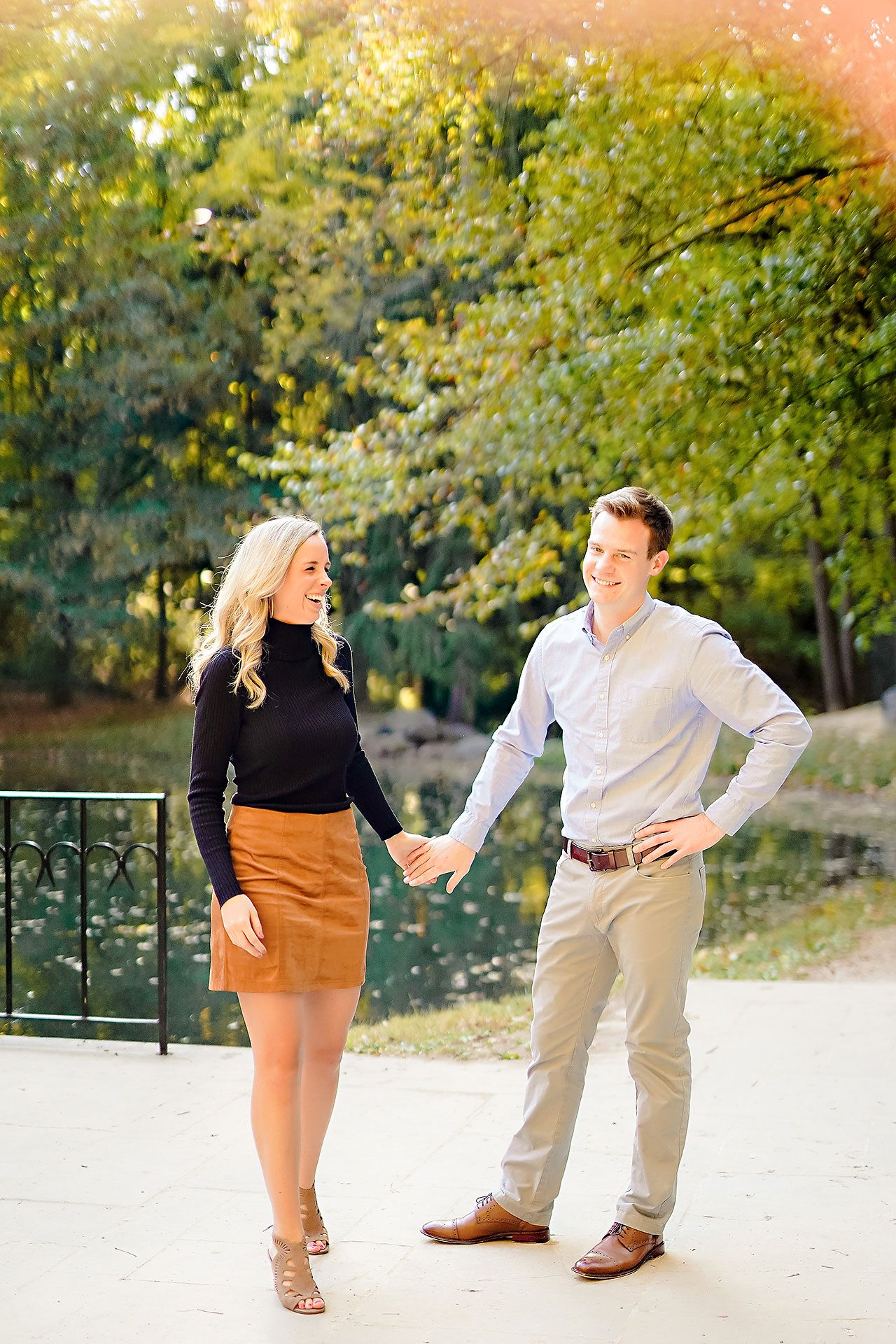 Sarah Evan Indianapolis Butler and Downtown Engagement 004