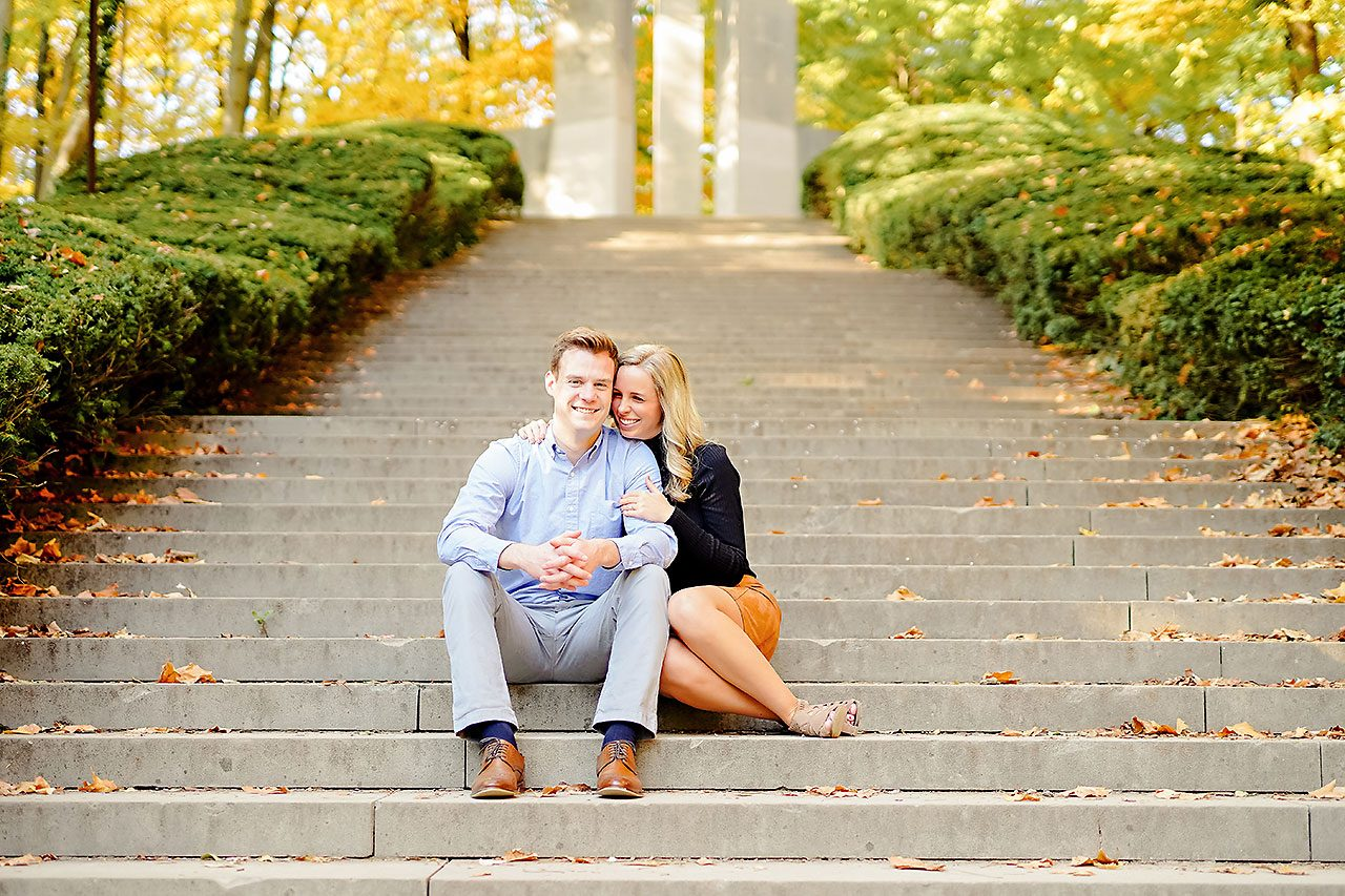 Sarah Evan Indianapolis Butler and Downtown Engagement 019