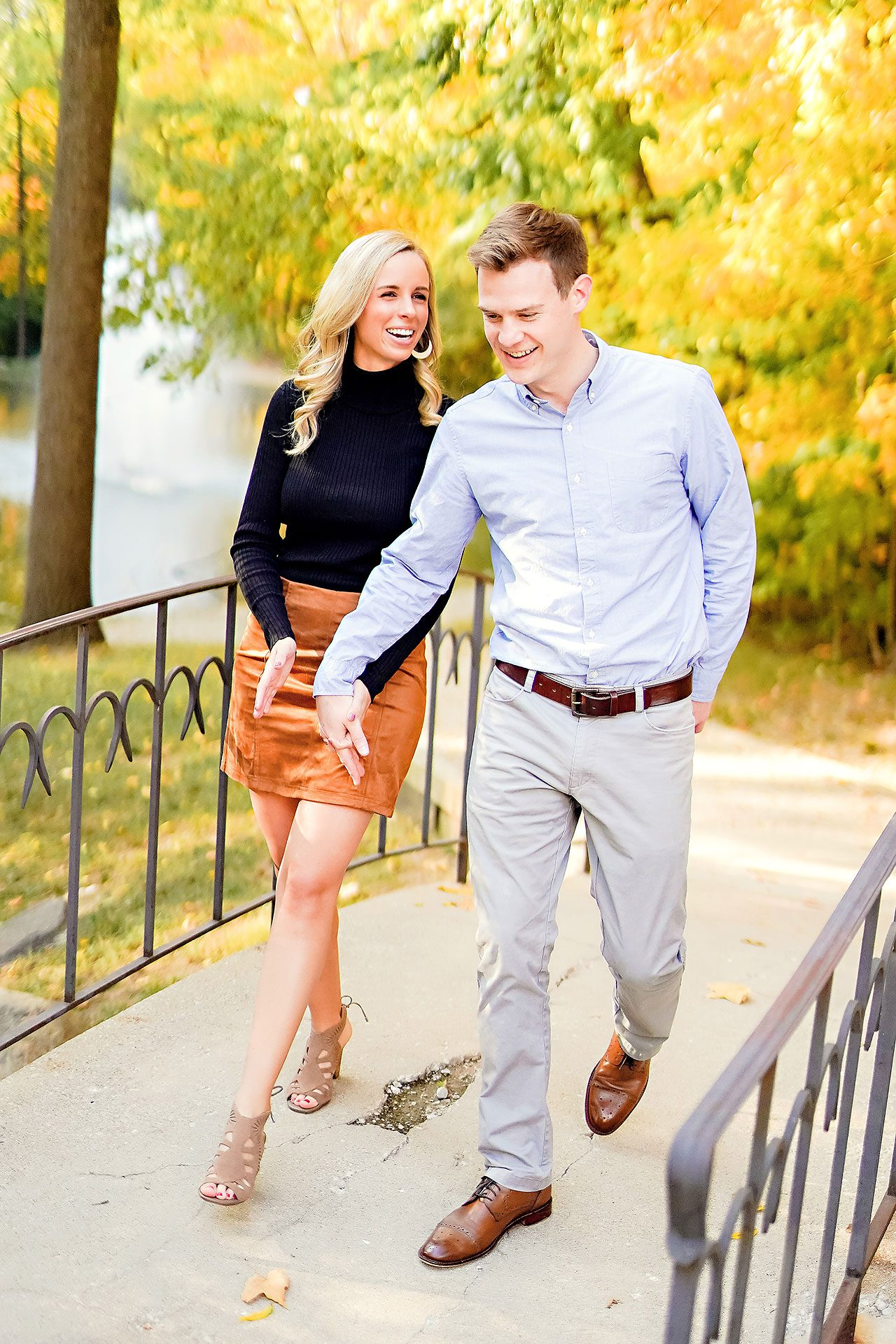 Sarah Evan Indianapolis Butler and Downtown Engagement 023