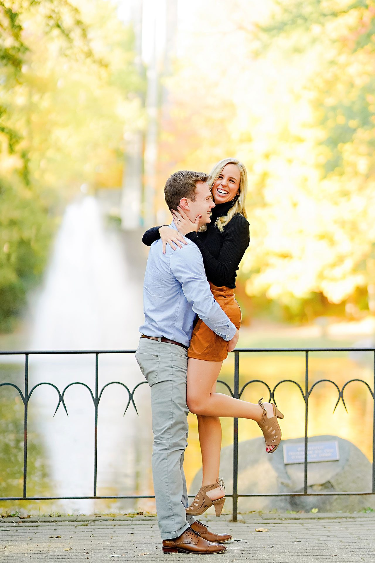 Sarah Evan Indianapolis Butler and Downtown Engagement 034
