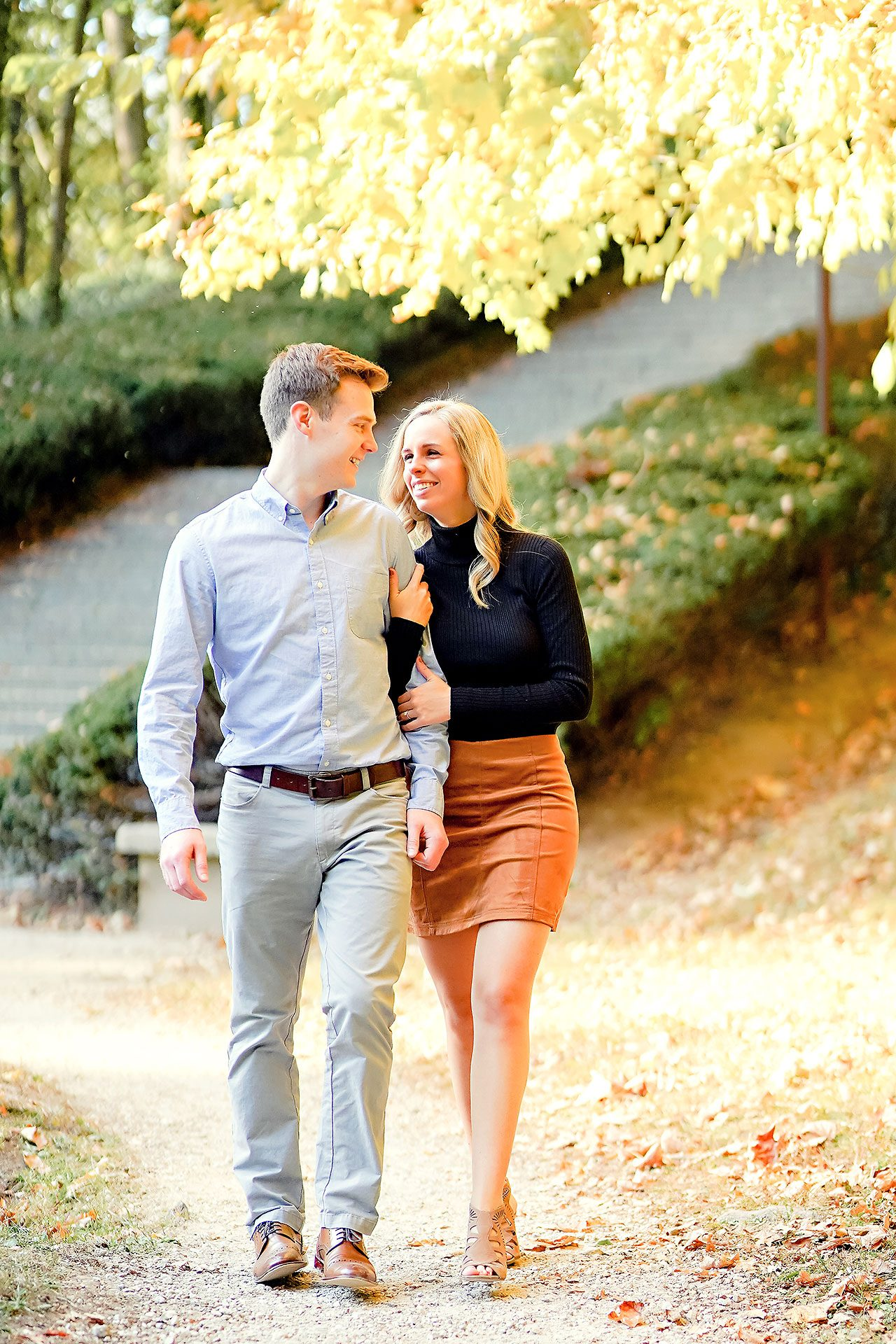 Sarah Evan Indianapolis Butler and Downtown Engagement 044