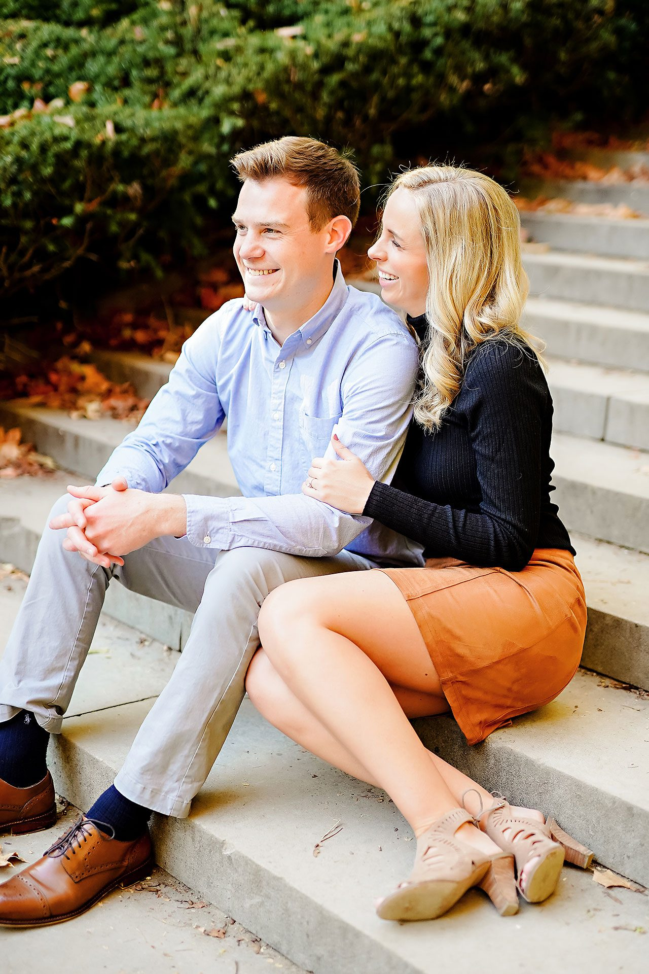 Sarah Evan Indianapolis Butler and Downtown Engagement 046