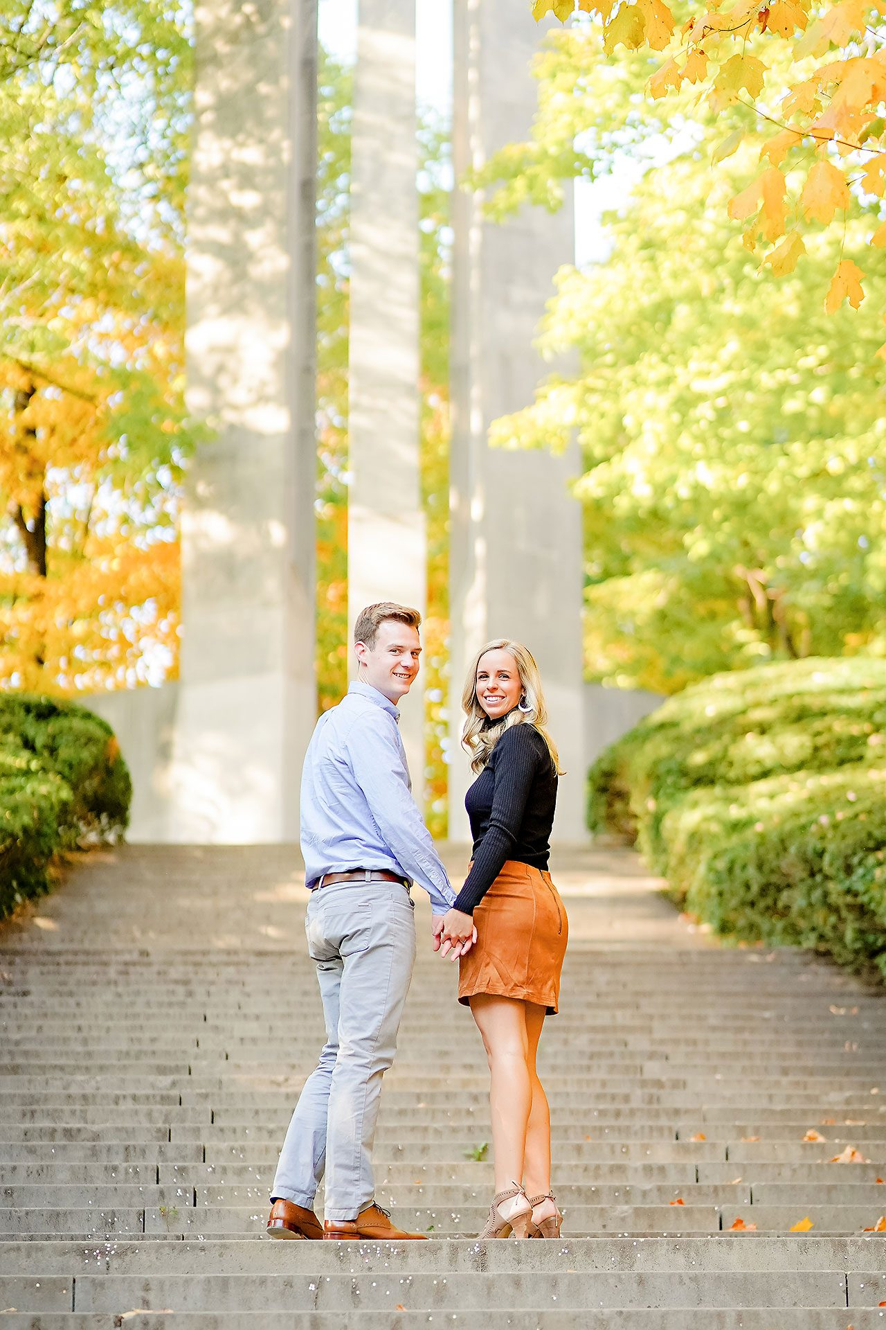 Sarah Evan Indianapolis Butler and Downtown Engagement 047