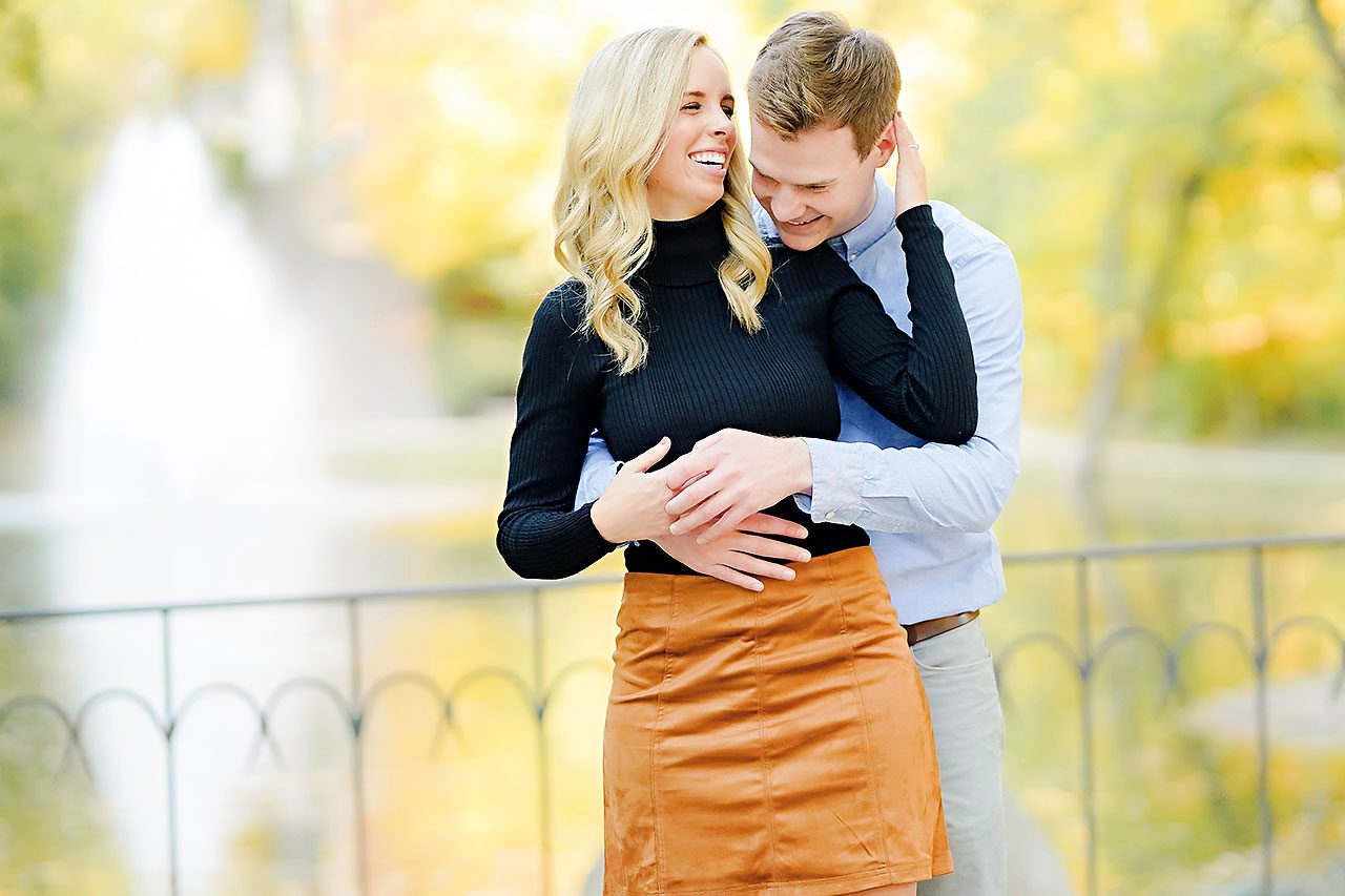 Sarah Evan Indianapolis Butler and Downtown Engagement 061