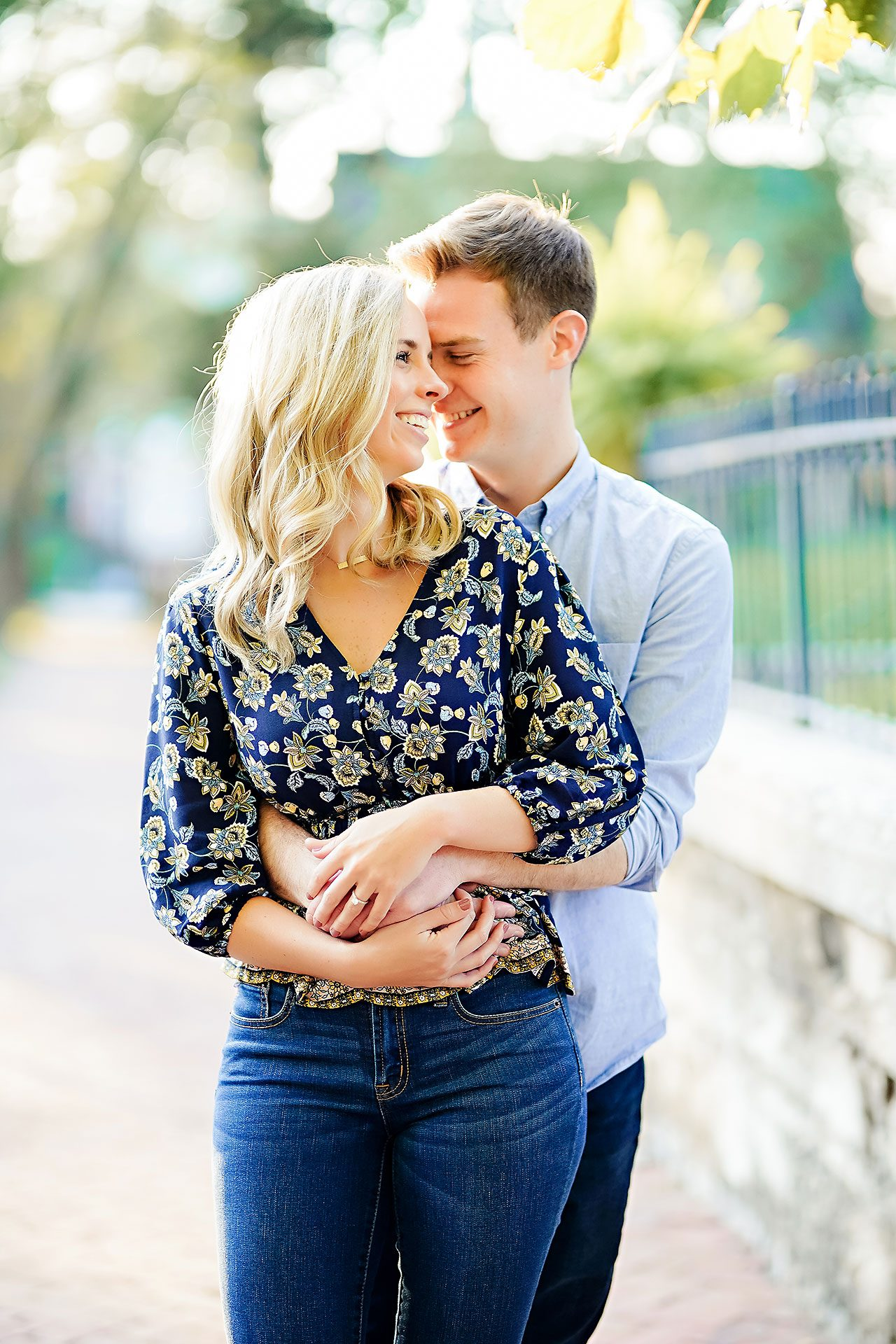 Sarah Evan Indianapolis Butler and Downtown Engagement 063