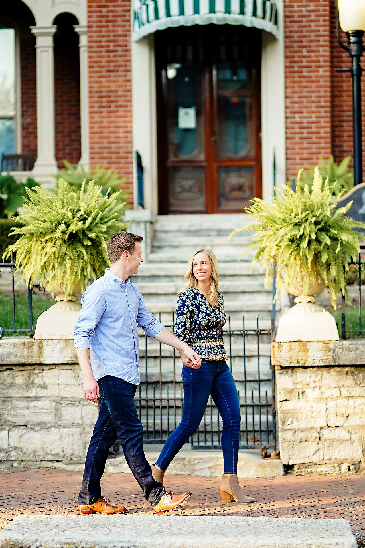 Sarah Evan Indianapolis Butler and Downtown Engagement 064