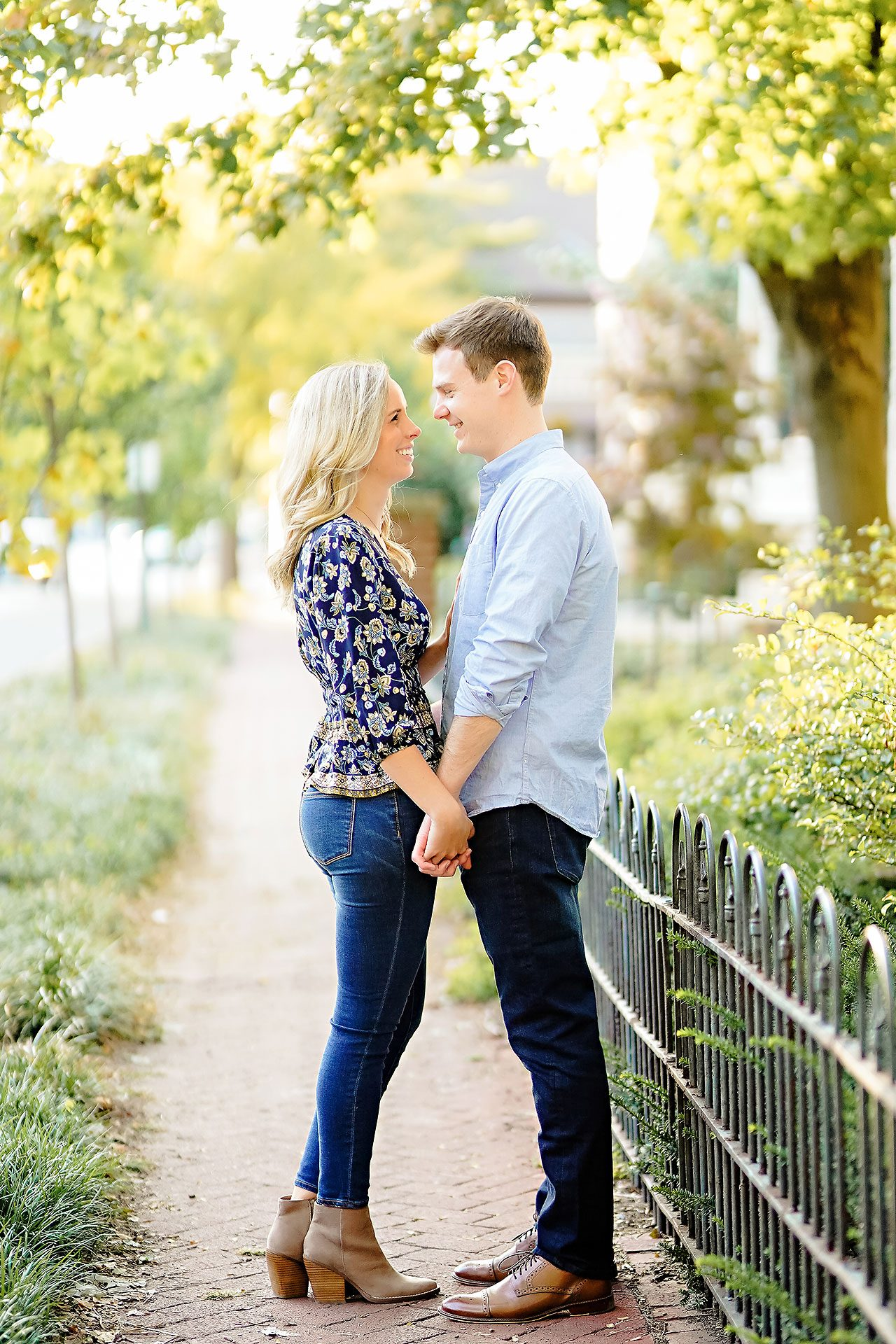 Sarah Evan Indianapolis Butler and Downtown Engagement 071