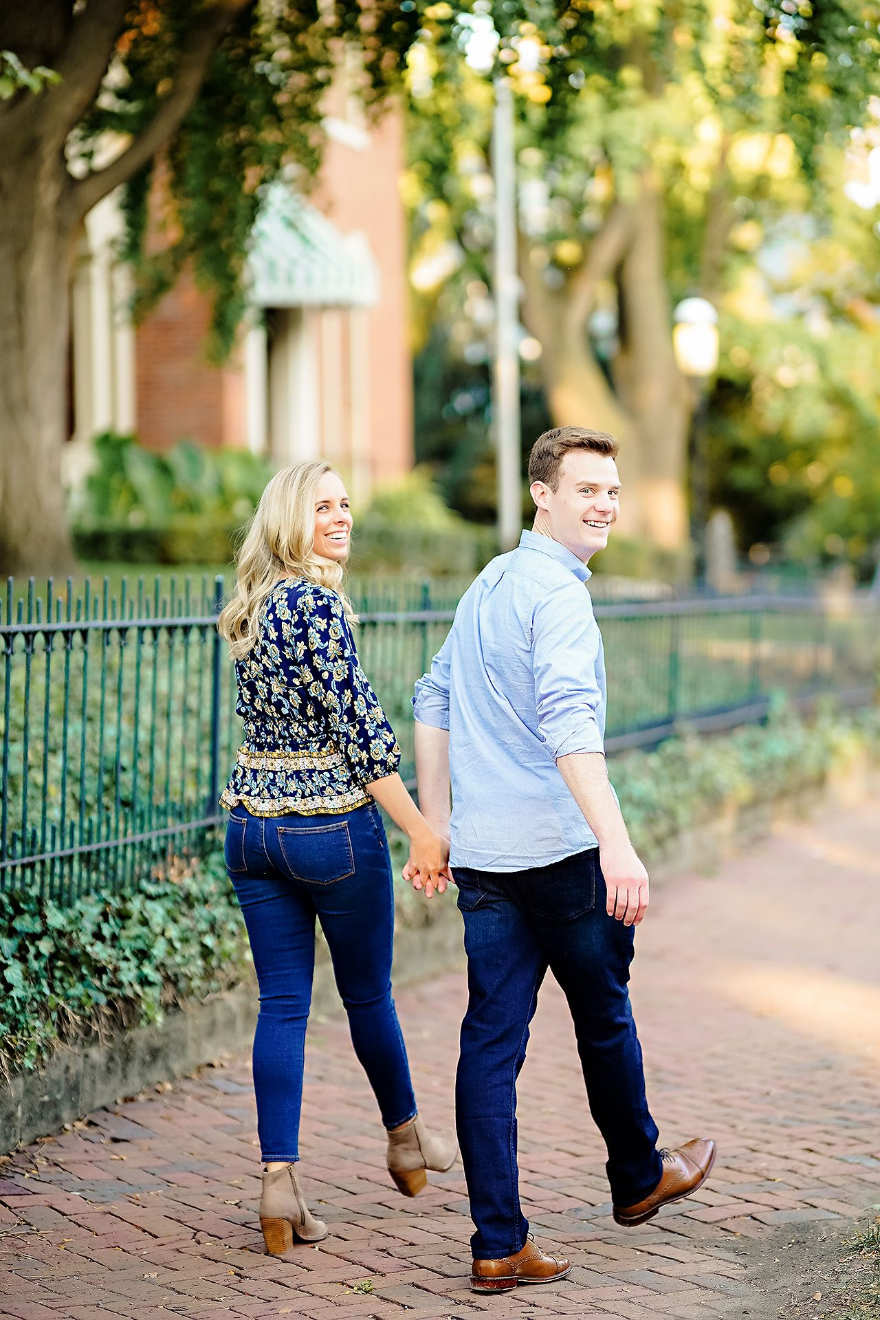 Sarah Evan Indianapolis Butler and Downtown Engagement 074