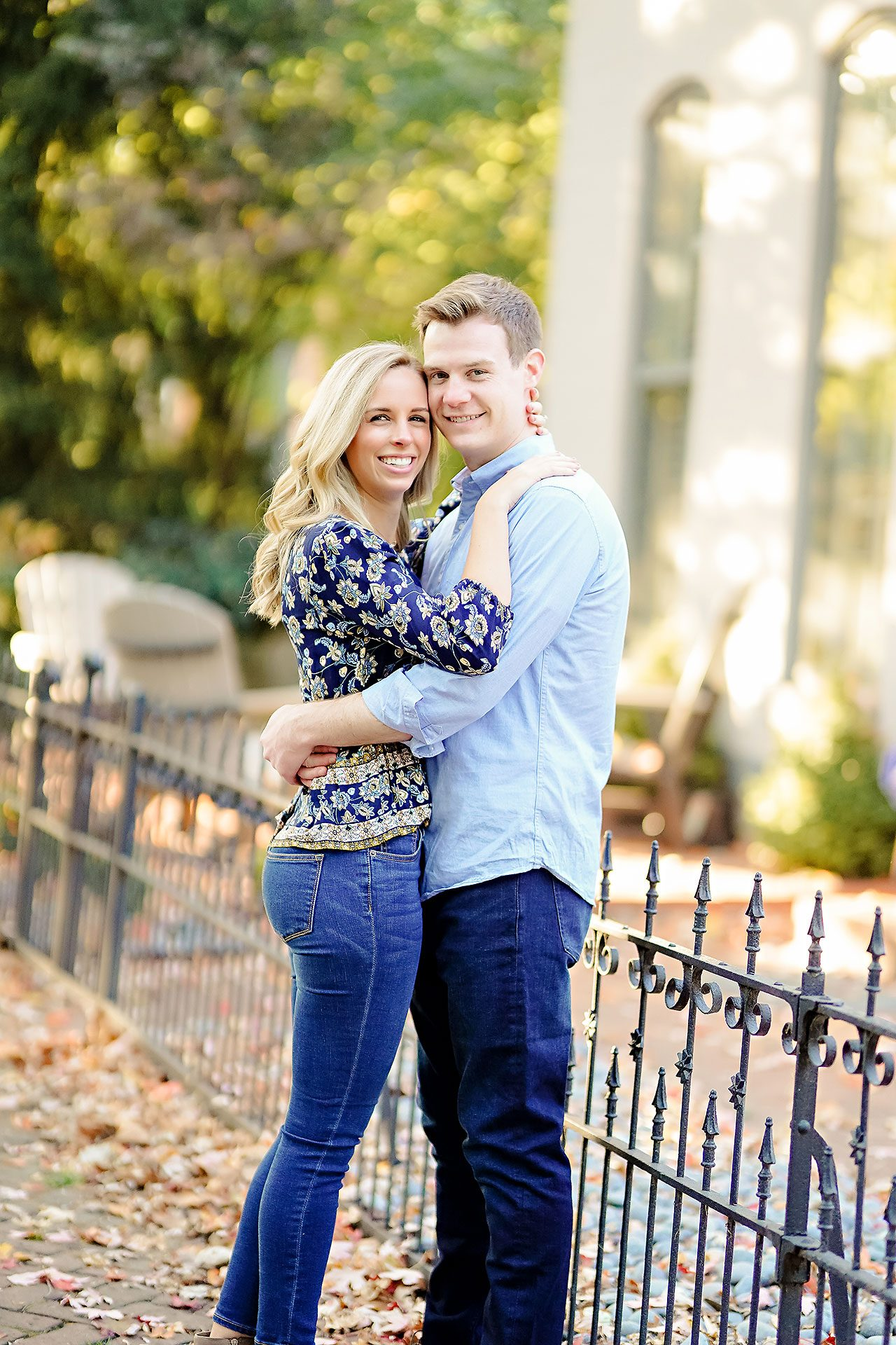 Sarah Evan Indianapolis Butler and Downtown Engagement 077