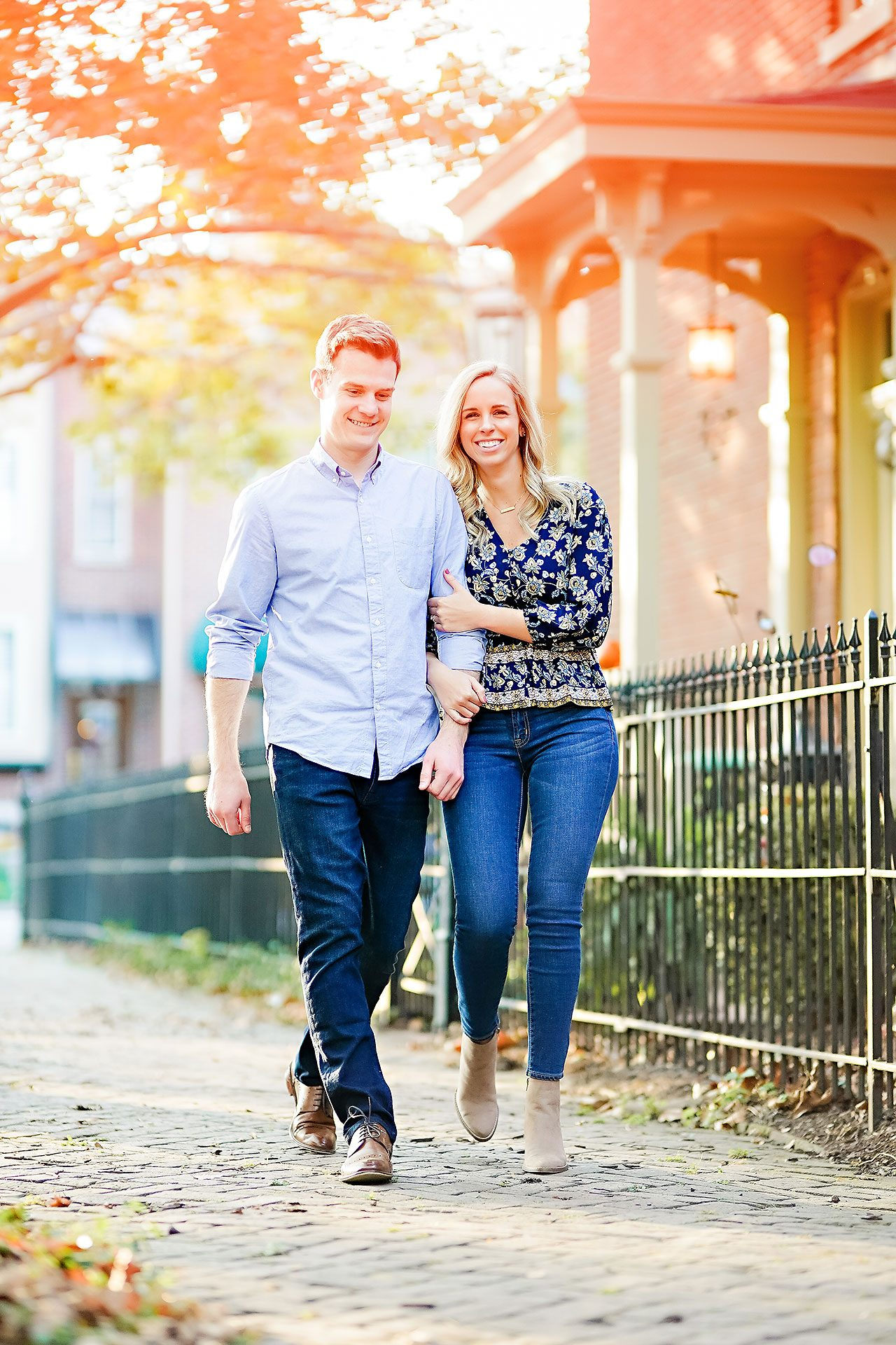 Sarah Evan Indianapolis Butler and Downtown Engagement 079