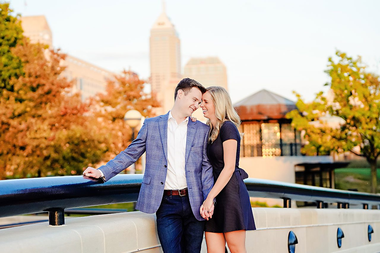 Sarah Evan Indianapolis Butler and Downtown Engagement 082