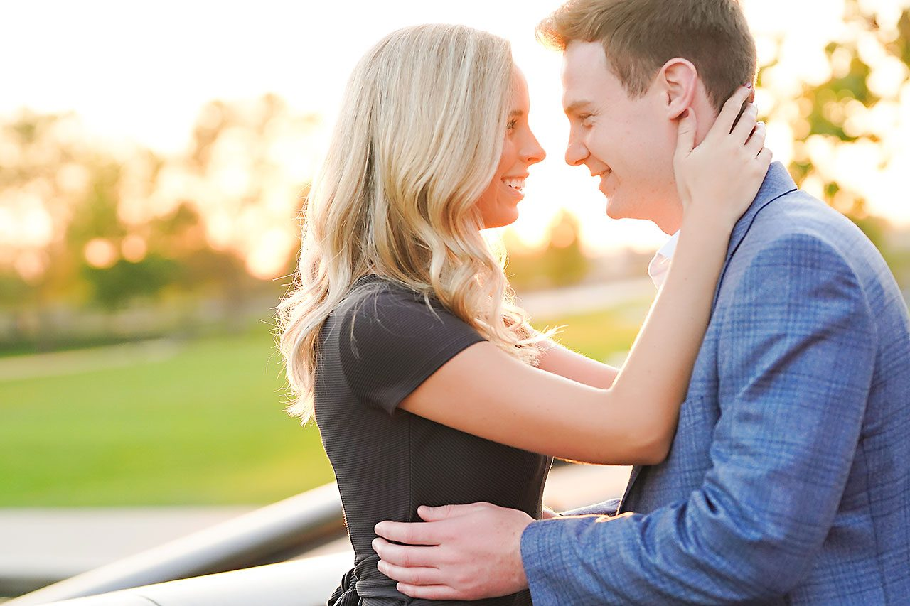 Sarah Evan Indianapolis Butler and Downtown Engagement 083