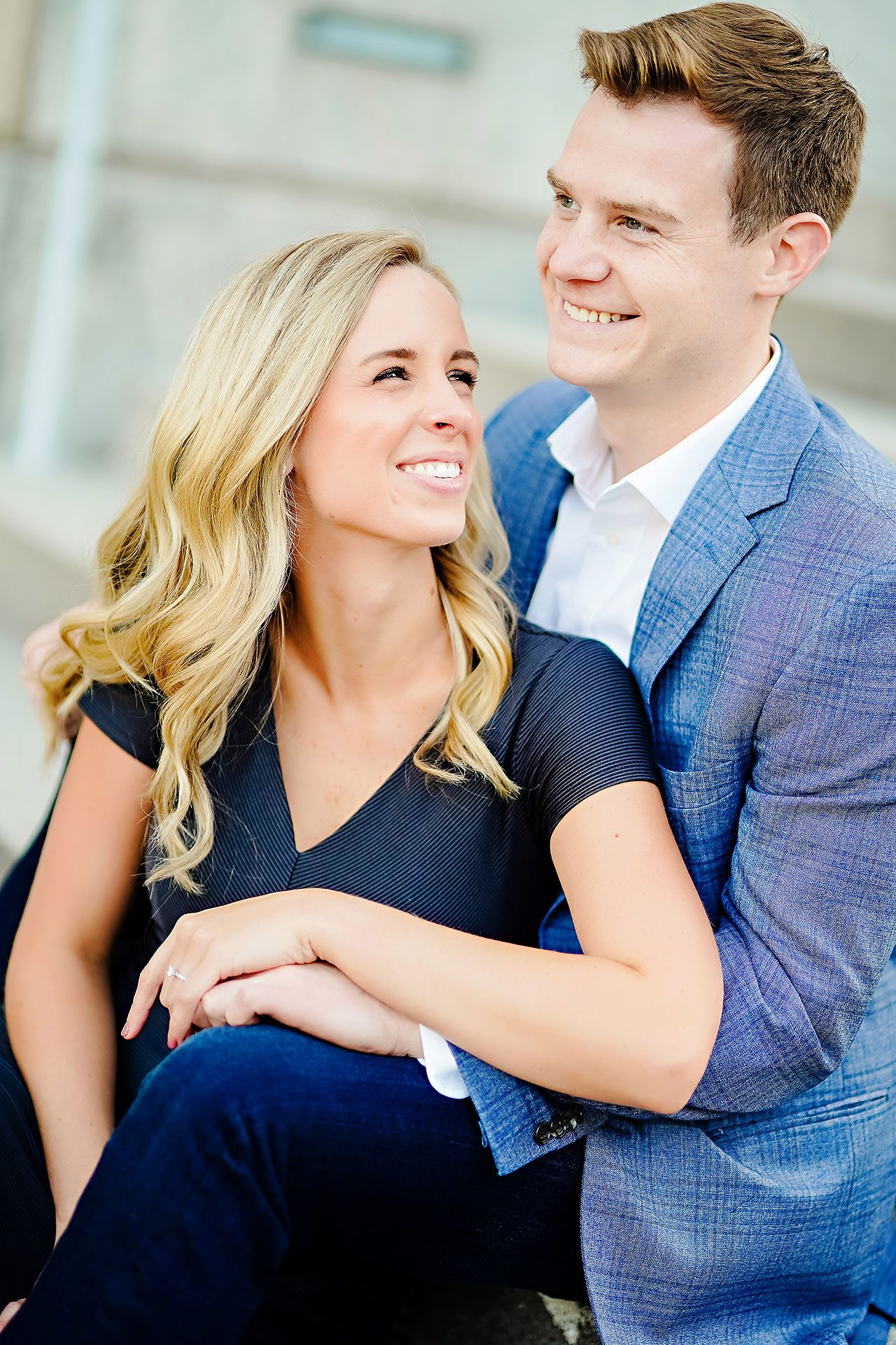 Sarah Evan Indianapolis Butler and Downtown Engagement 084