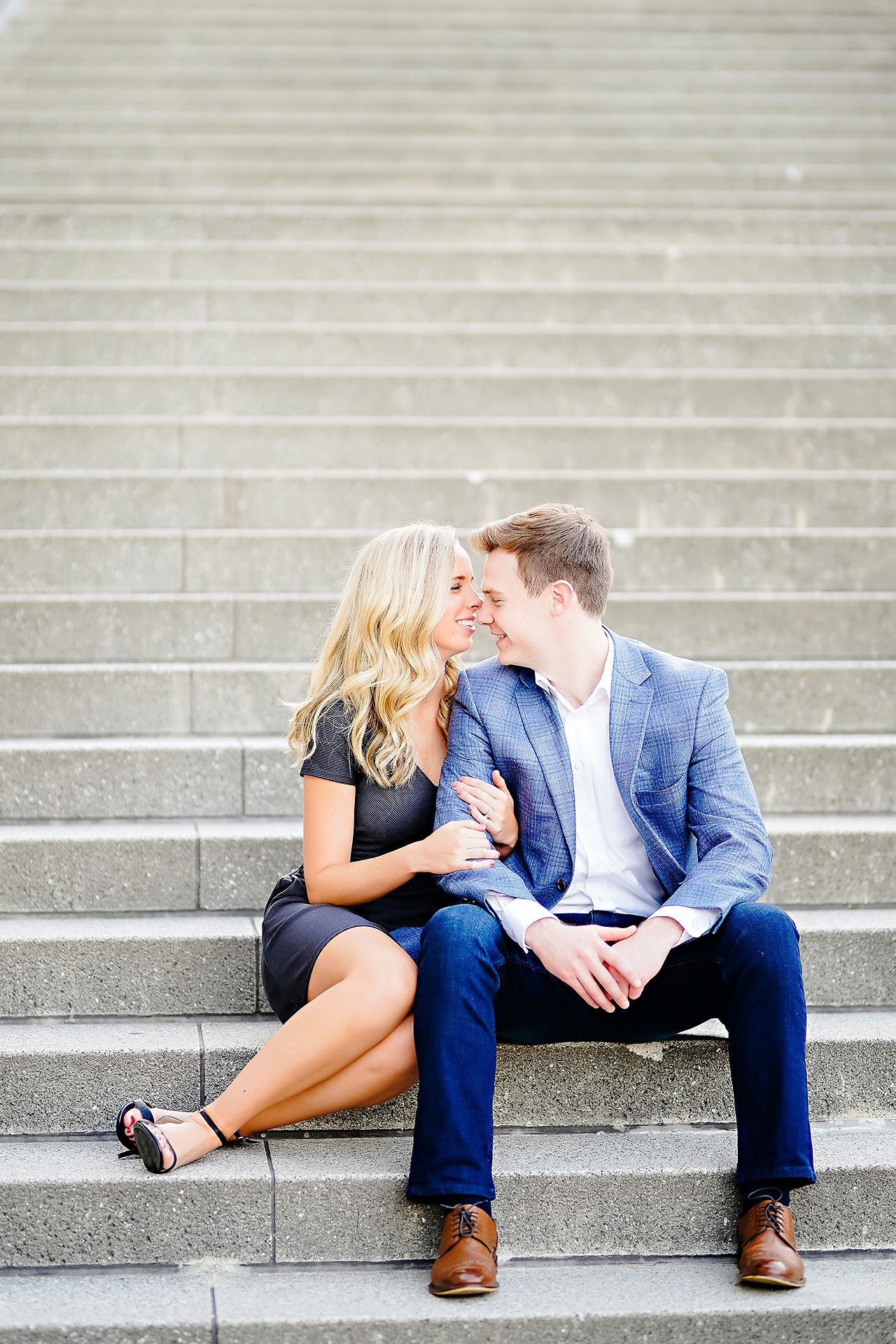 Sarah Evan Indianapolis Butler and Downtown Engagement 085