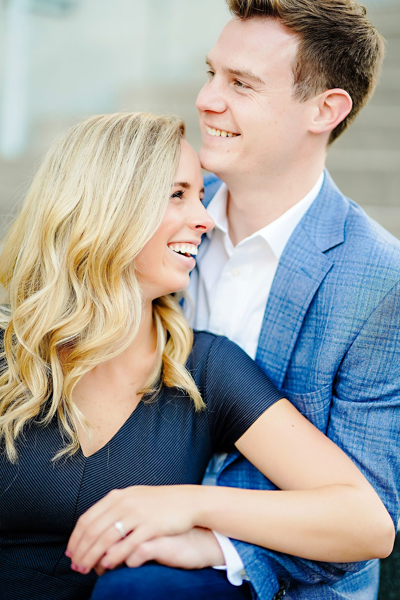 Sarah Evan Indianapolis Butler and Downtown Engagement 086