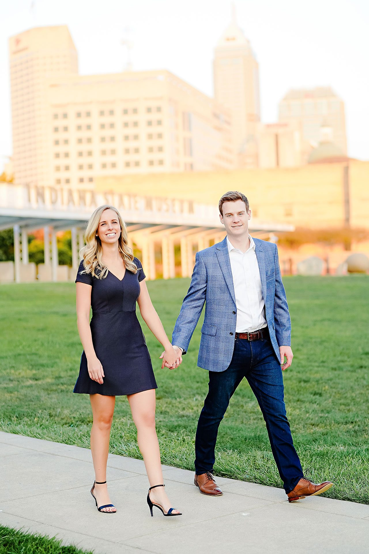Sarah Evan Indianapolis Butler and Downtown Engagement 091