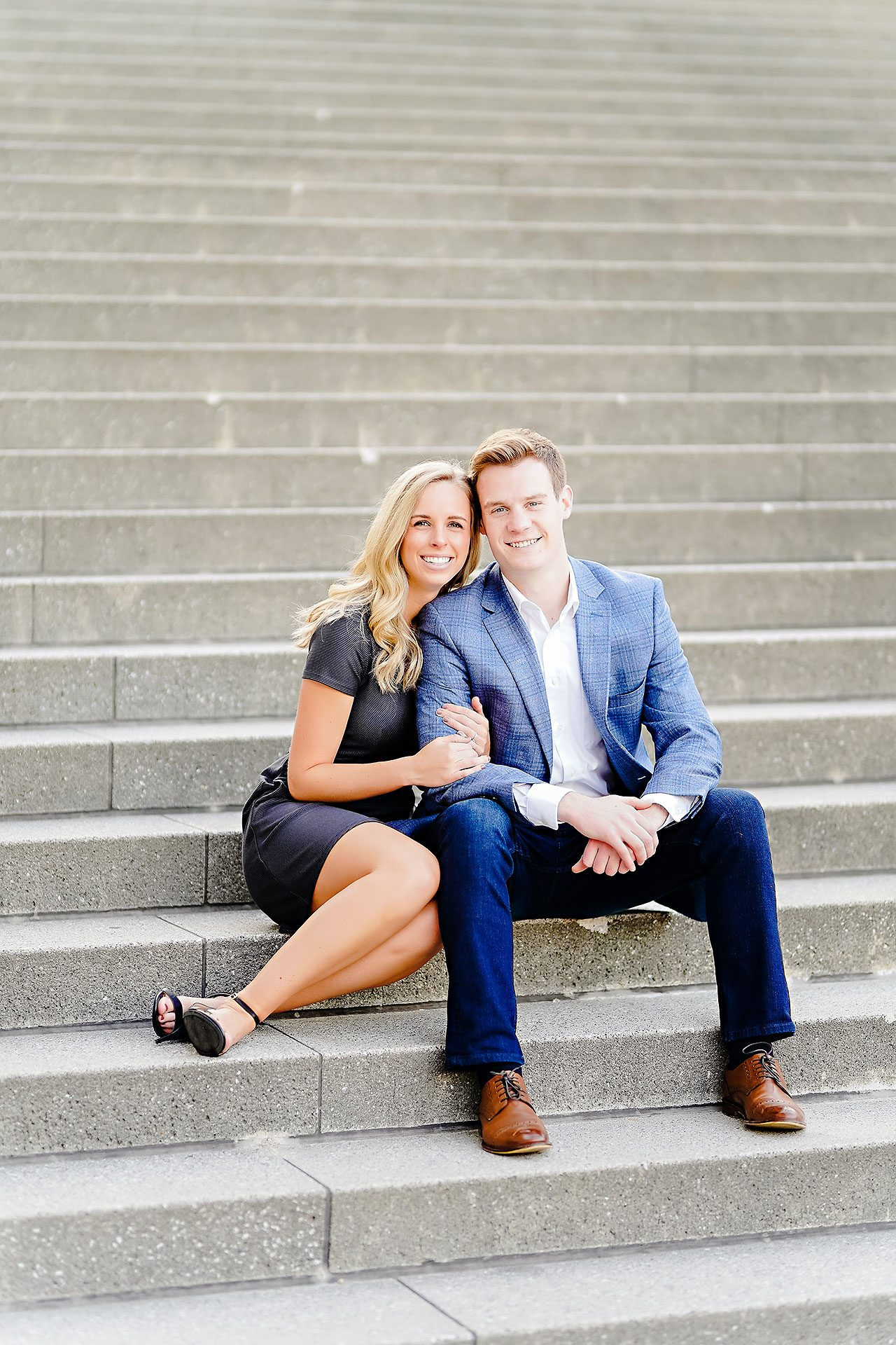 Sarah Evan Indianapolis Butler and Downtown Engagement 093