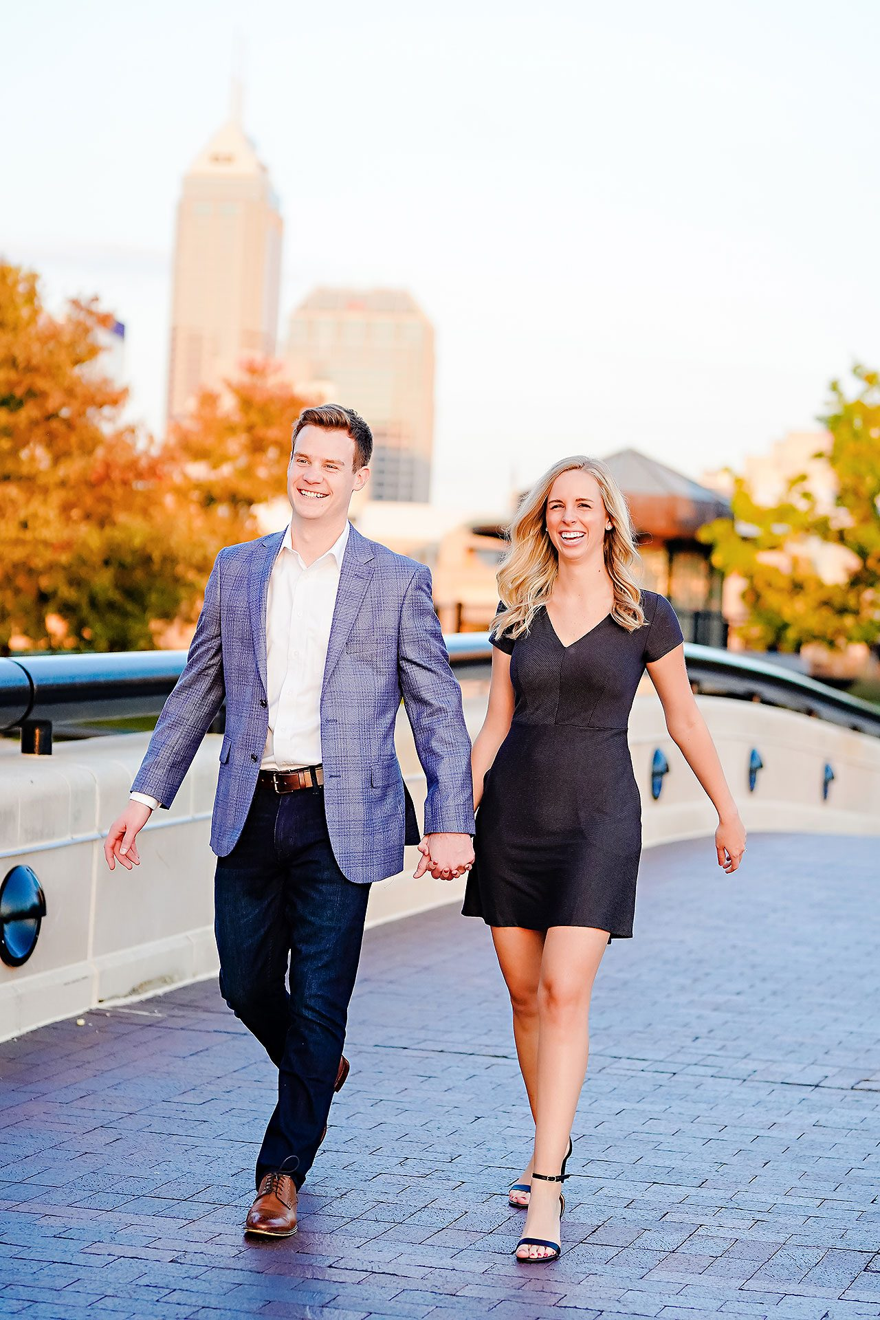 Sarah Evan Indianapolis Butler and Downtown Engagement 097