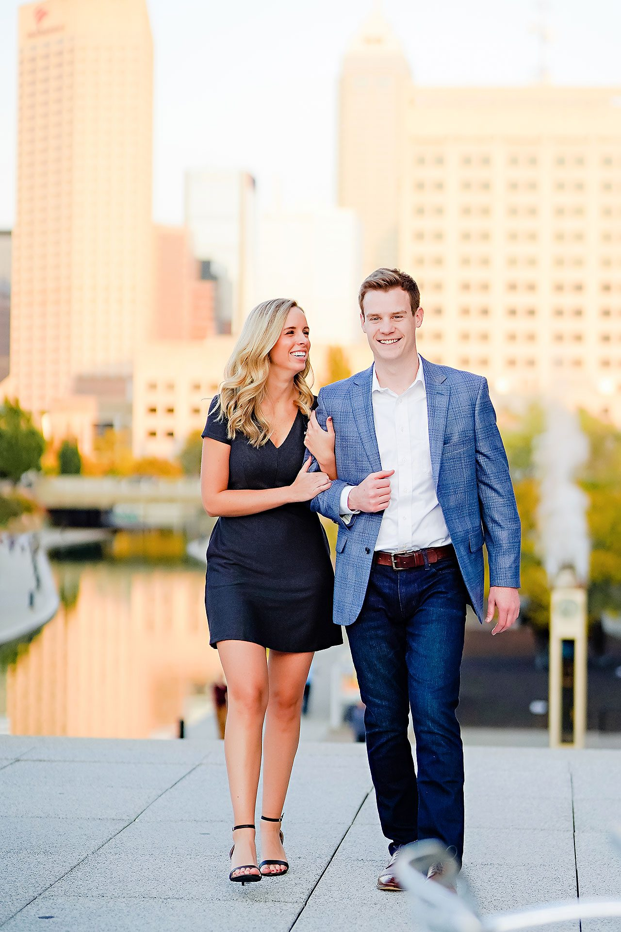 Sarah Evan Indianapolis Butler and Downtown Engagement 100