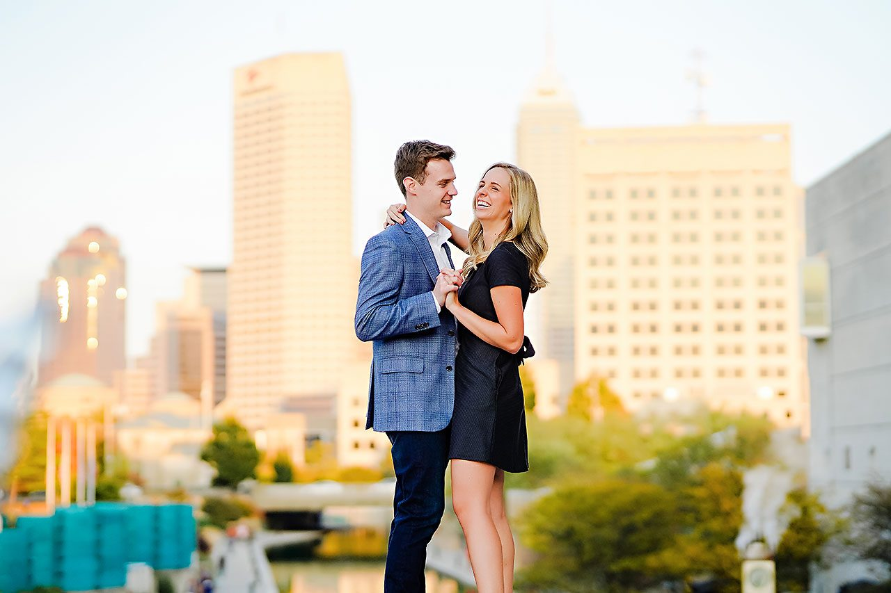 Sarah Evan Indianapolis Butler and Downtown Engagement 102