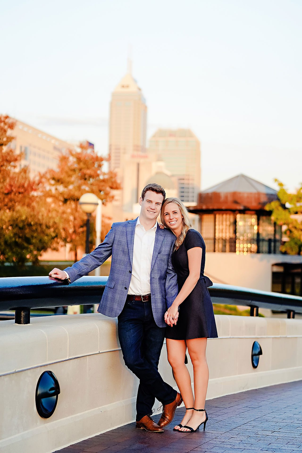 Sarah Evan Indianapolis Butler and Downtown Engagement 106