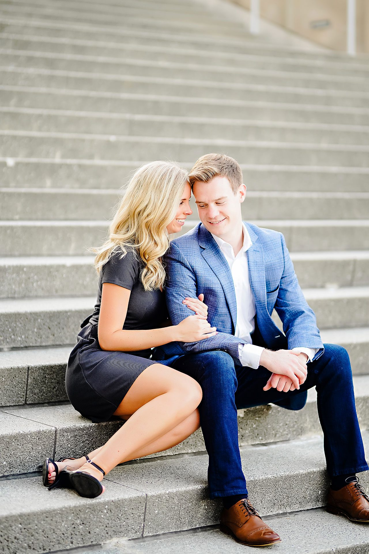Sarah Evan Indianapolis Butler and Downtown Engagement 107