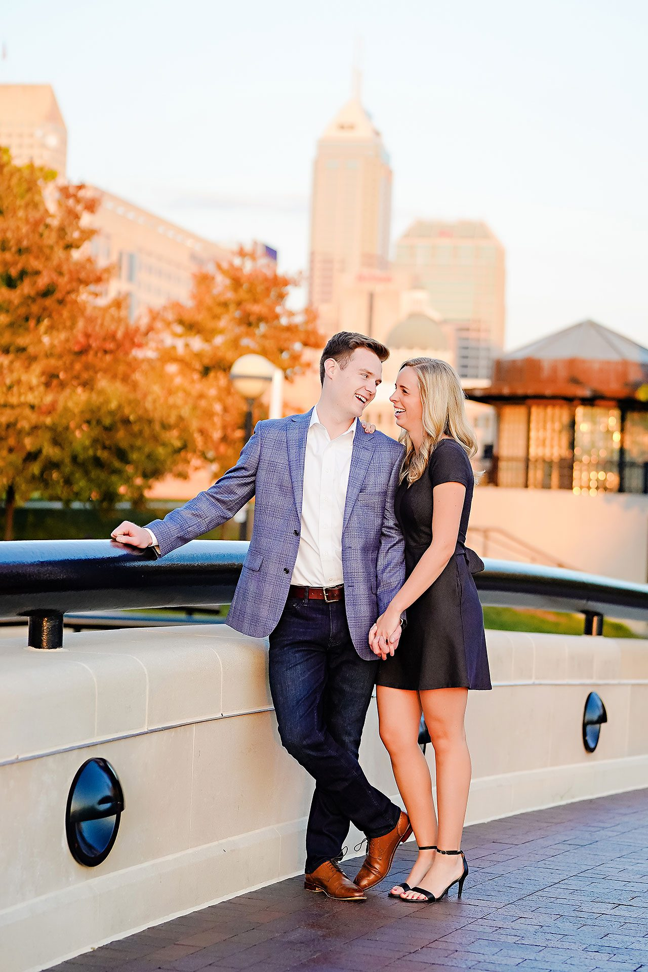 Sarah Evan Indianapolis Butler and Downtown Engagement 111