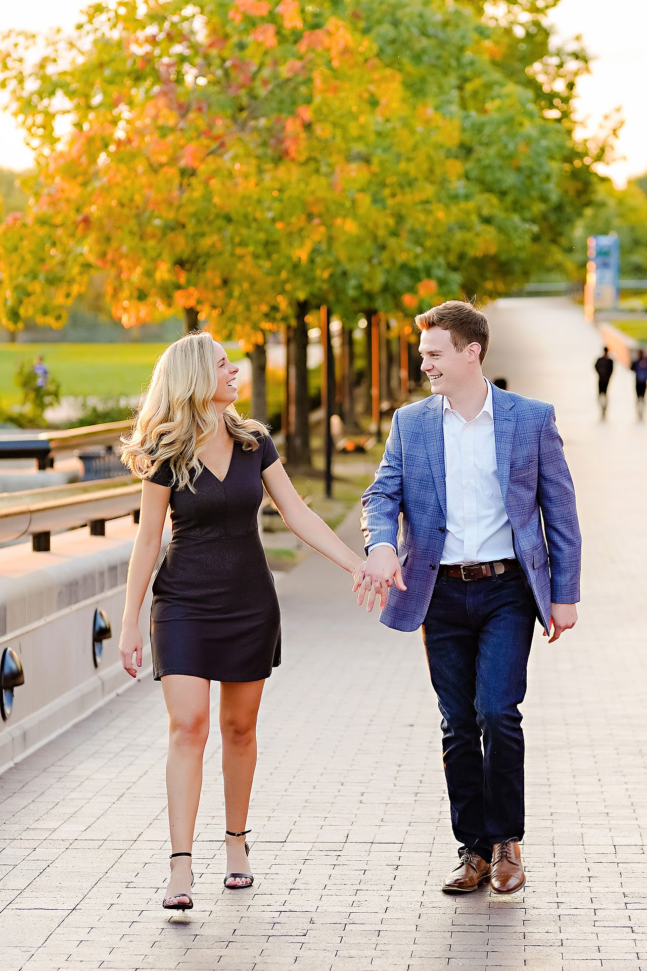 Sarah Evan Indianapolis Butler and Downtown Engagement 113