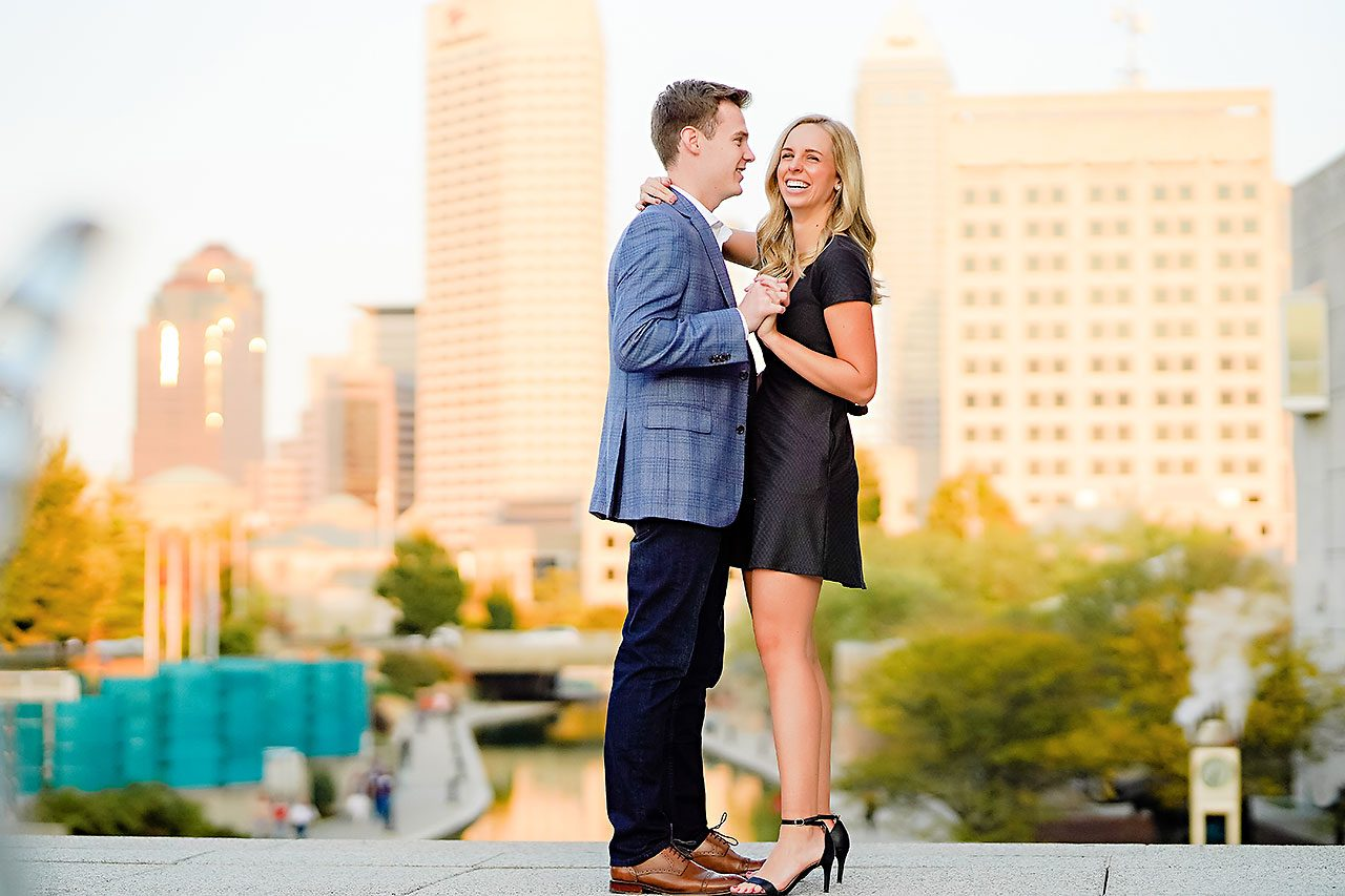 Sarah Evan Indianapolis Butler and Downtown Engagement 115