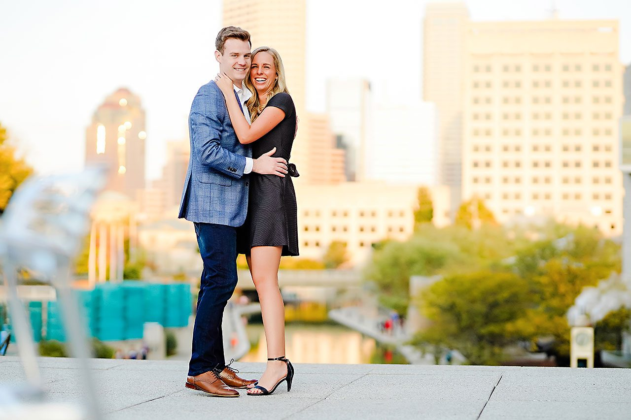 Sarah Evan Indianapolis Butler and Downtown Engagement 117
