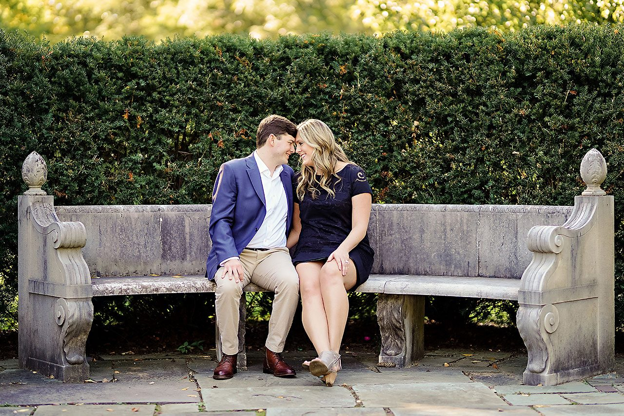 Taylor Case Newfields Engagement Session 021