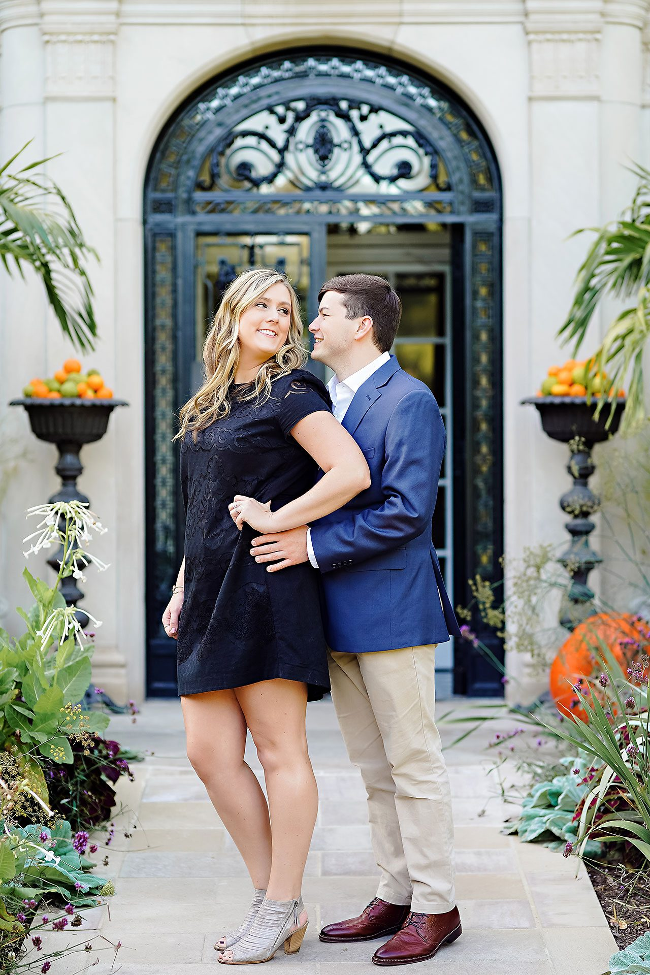 Taylor Case Newfields Engagement Session 028