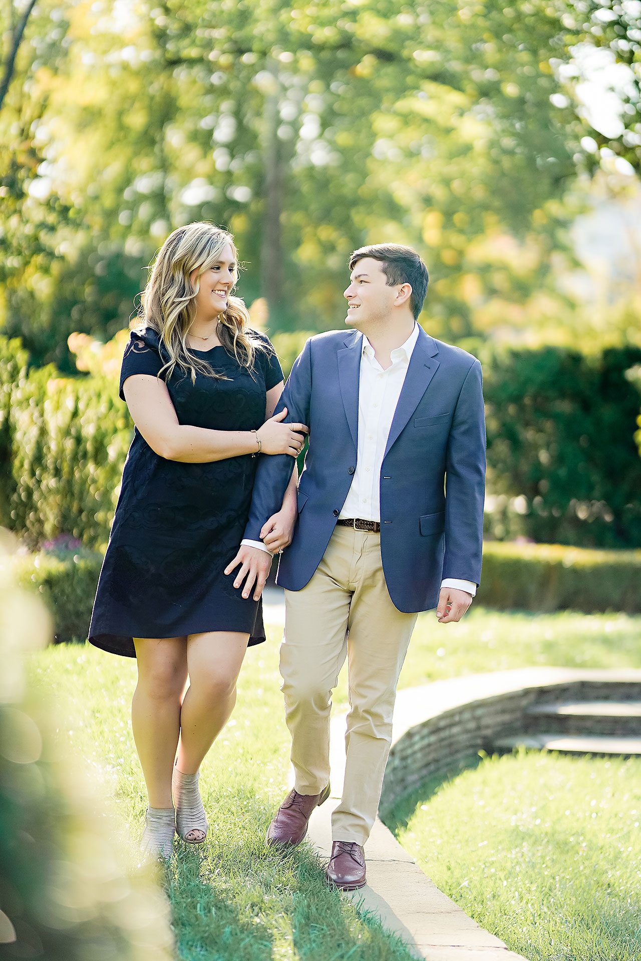 Taylor Case Newfields Engagement Session 033