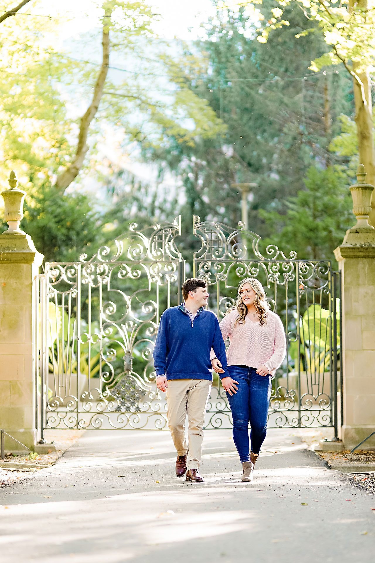 Taylor Case Newfields Engagement Session 055