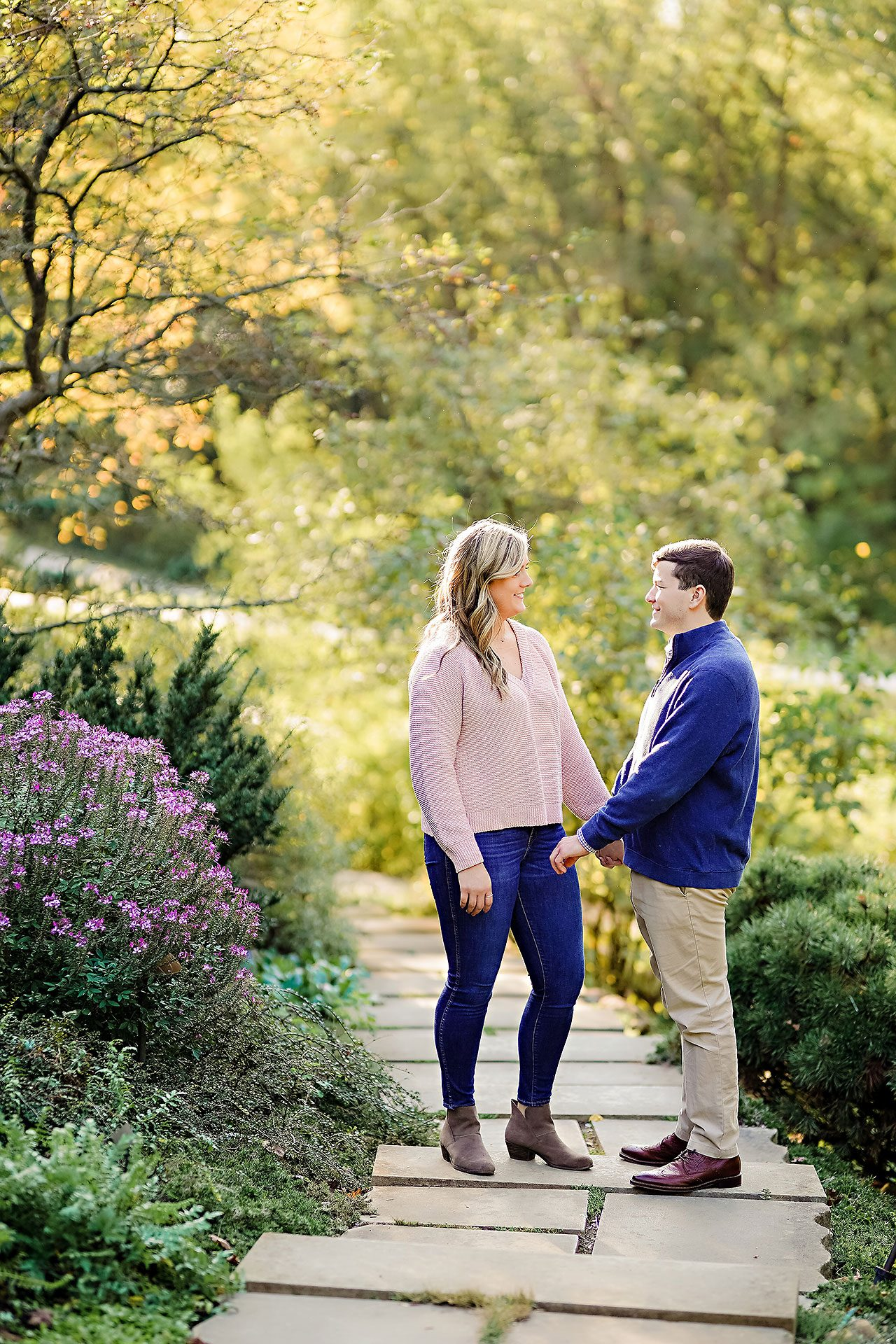 Taylor Case Newfields Engagement Session 057