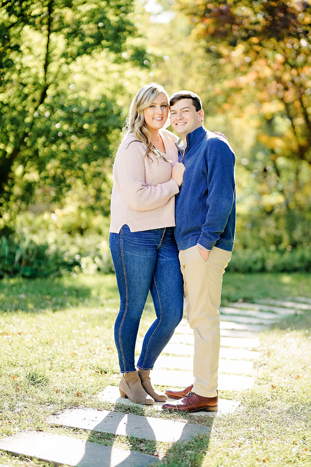 Taylor Case Newfields Engagement Session 059