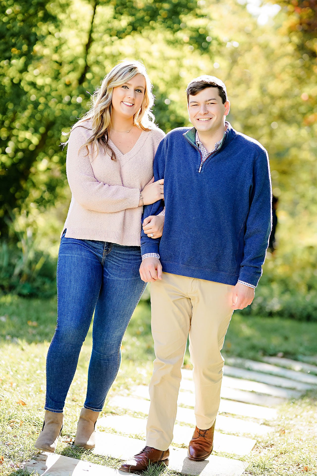 Taylor Case Newfields Engagement Session 068