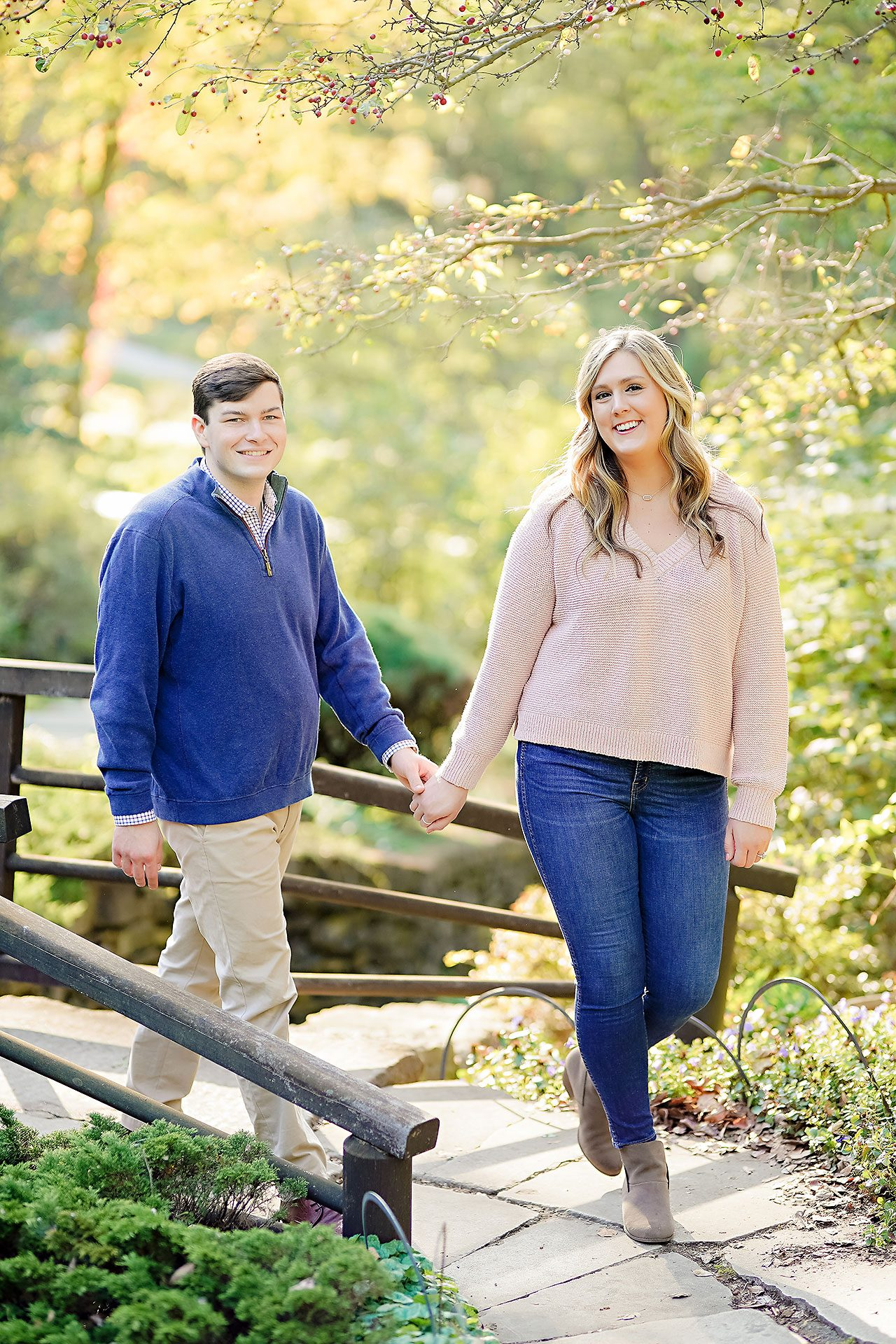Taylor Case Newfields Engagement Session 070