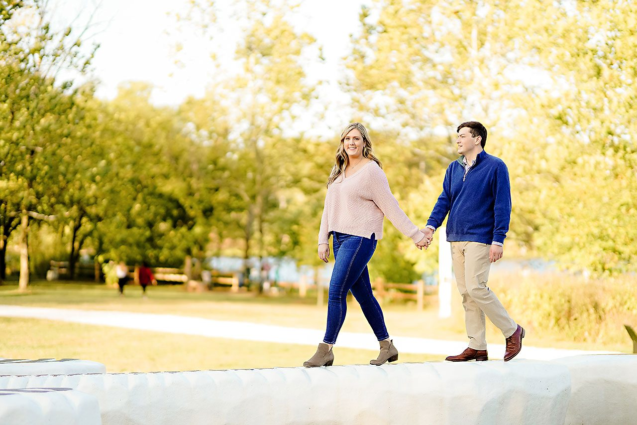 Taylor Case Newfields Engagement Session 074