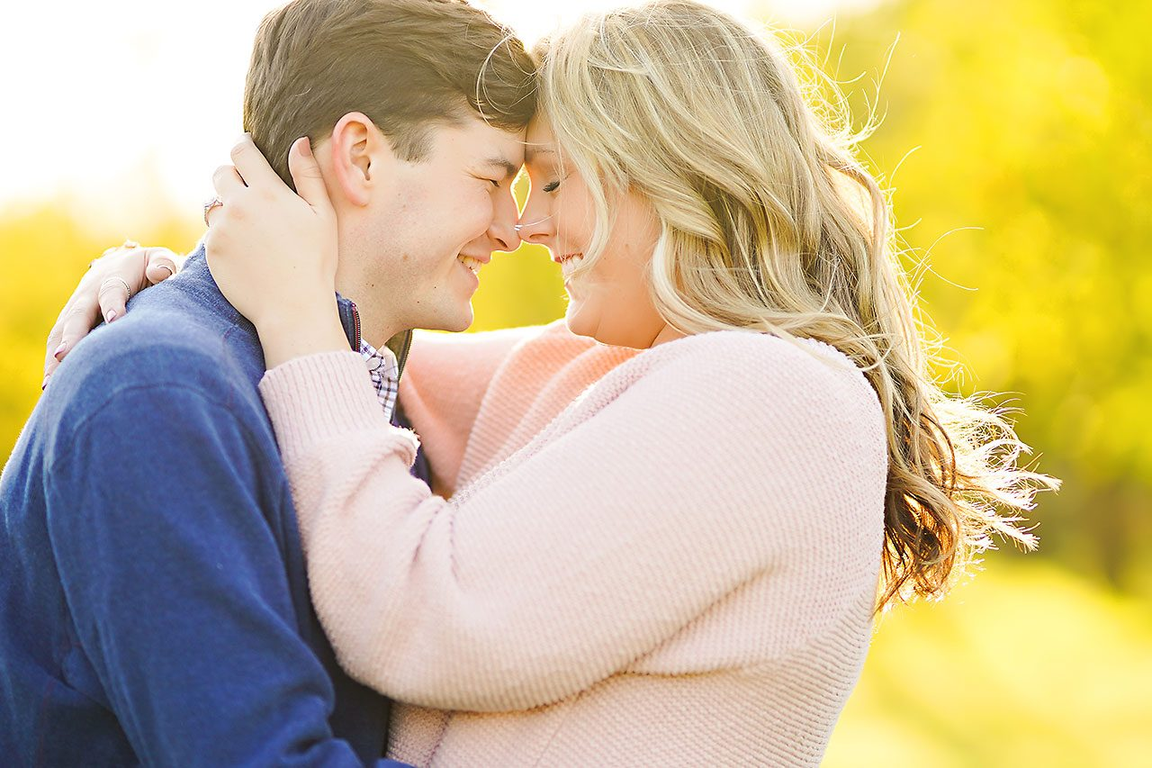 Taylor Case Newfields Engagement Session 075