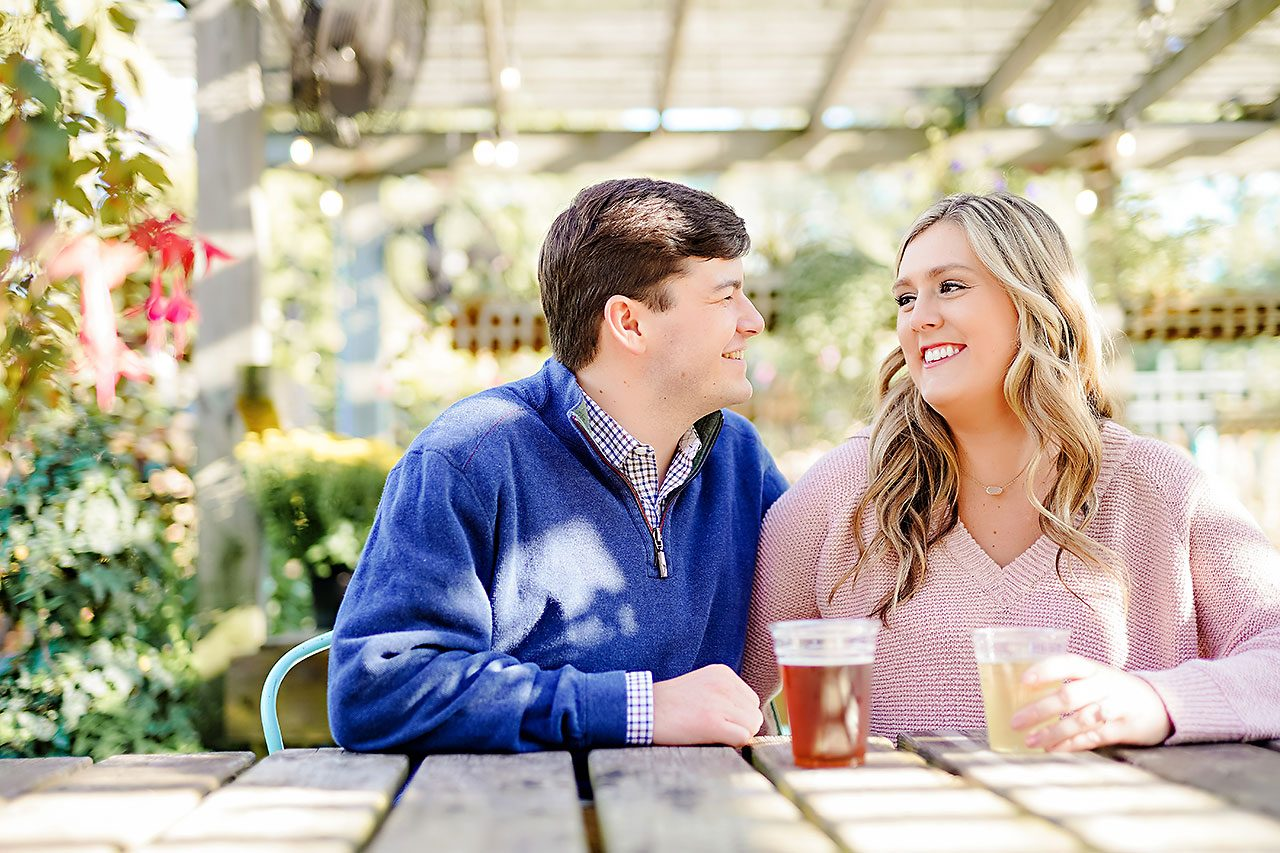 Taylor Case Newfields Engagement Session 076