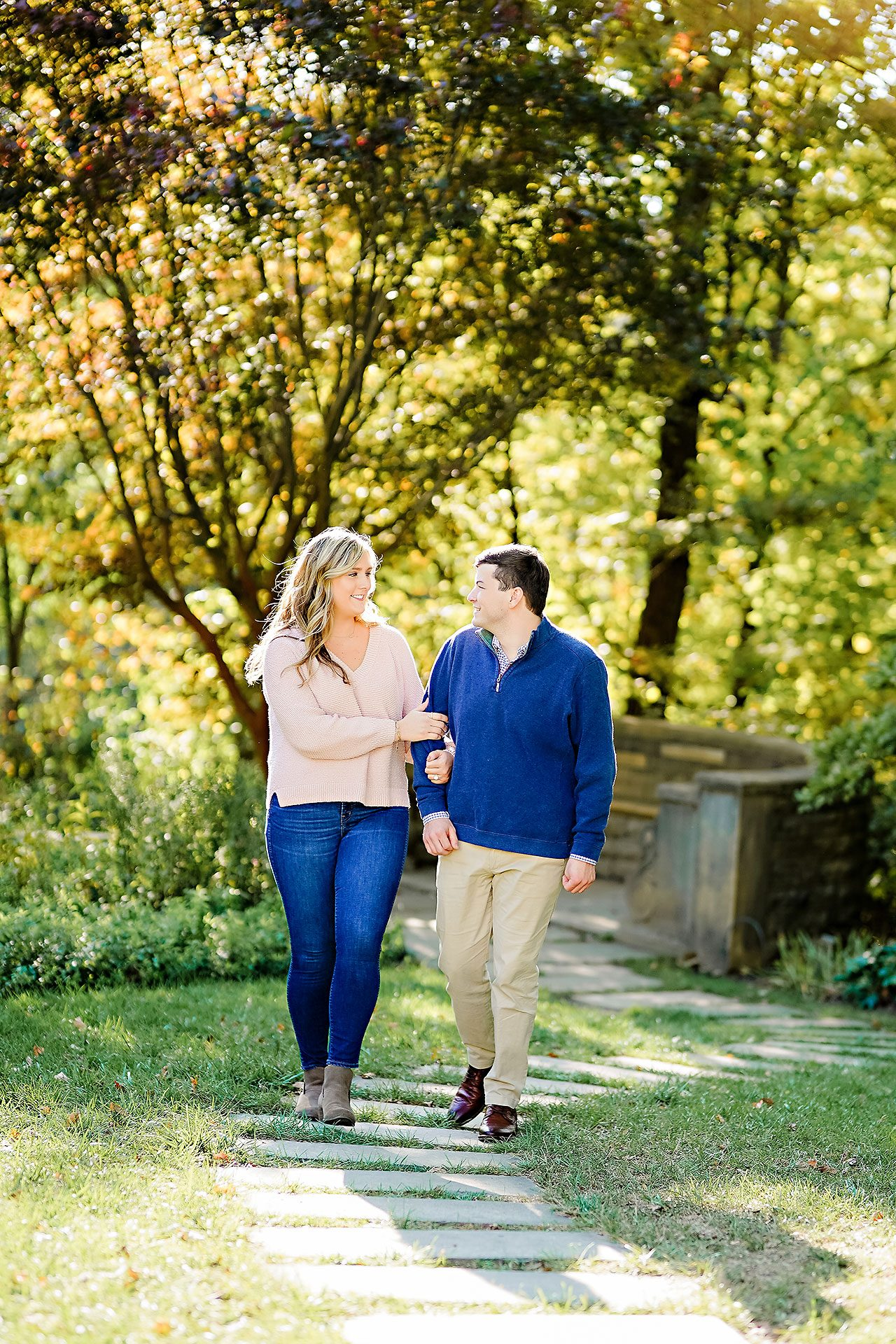 Taylor Case Newfields Engagement Session 096