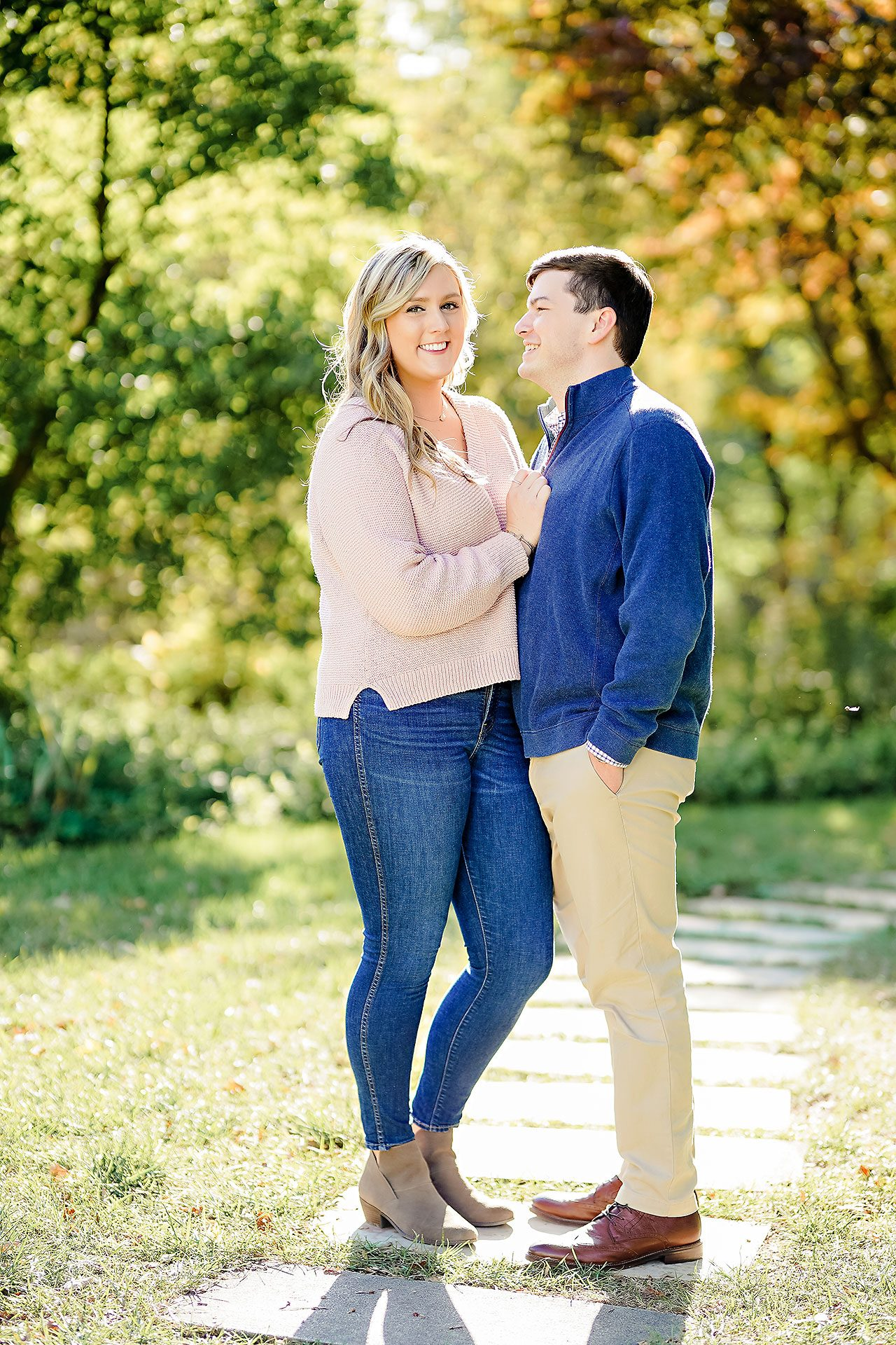 Taylor Case Newfields Engagement Session 105