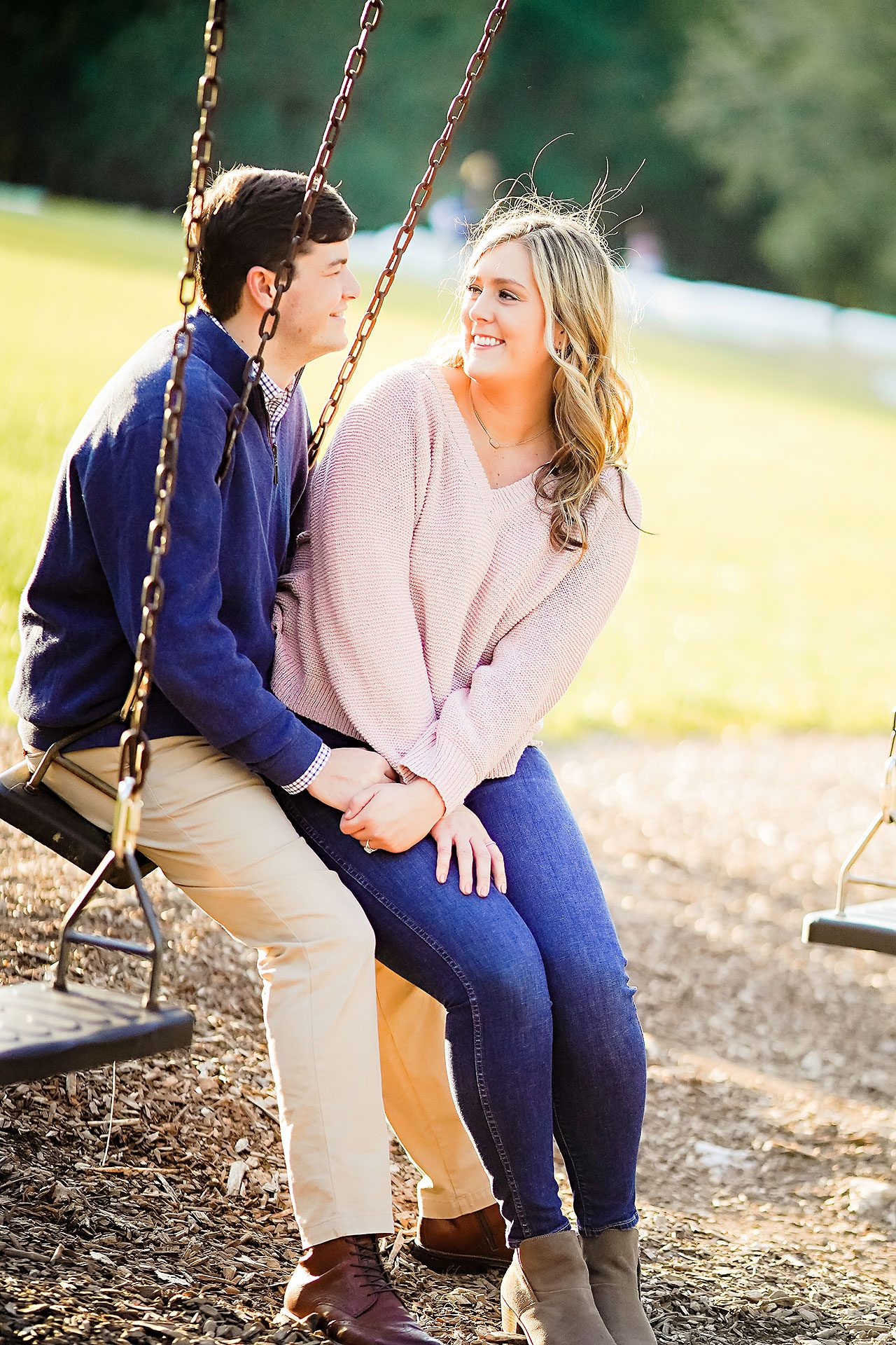 Taylor Case Newfields Engagement Session 107