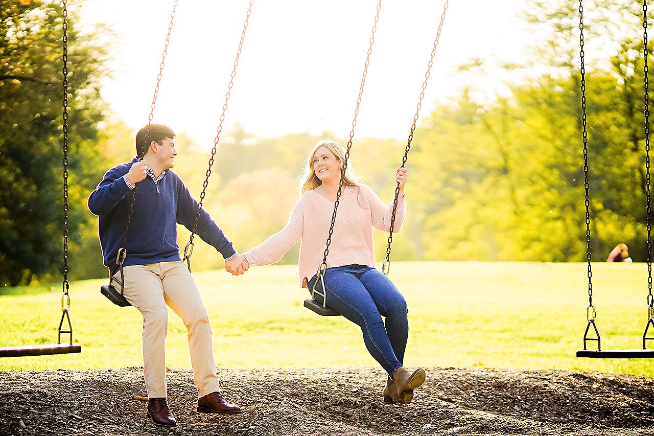 Taylor Case Newfields Engagement Session 109