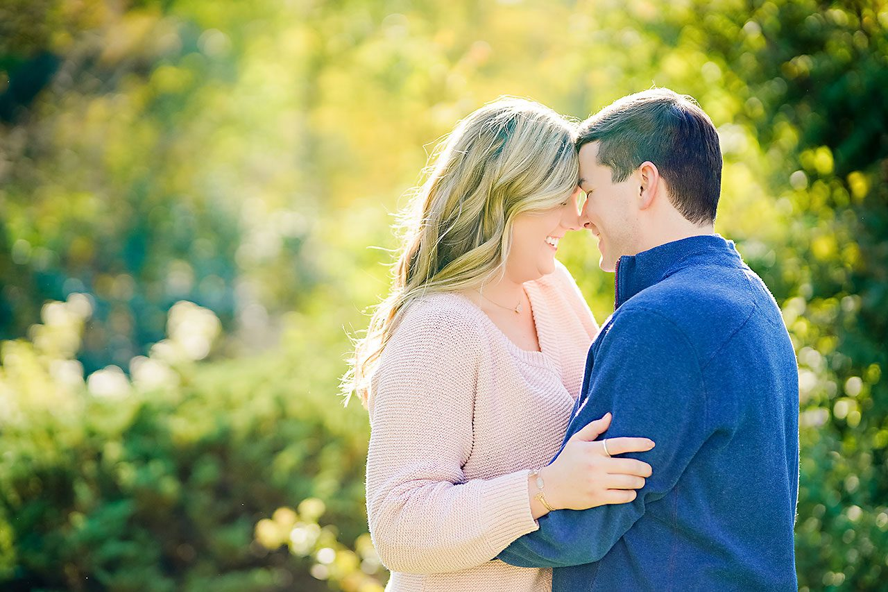 Taylor Case Newfields Engagement Session 111
