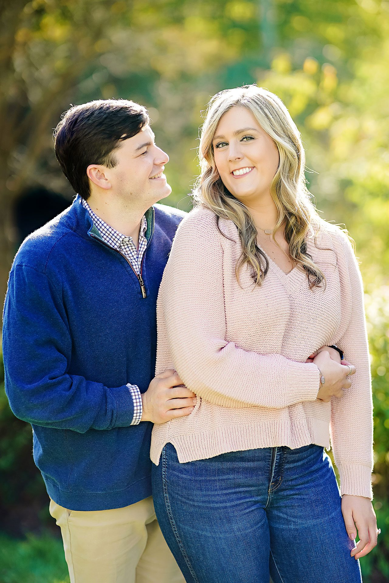Taylor Case Newfields Engagement Session 124