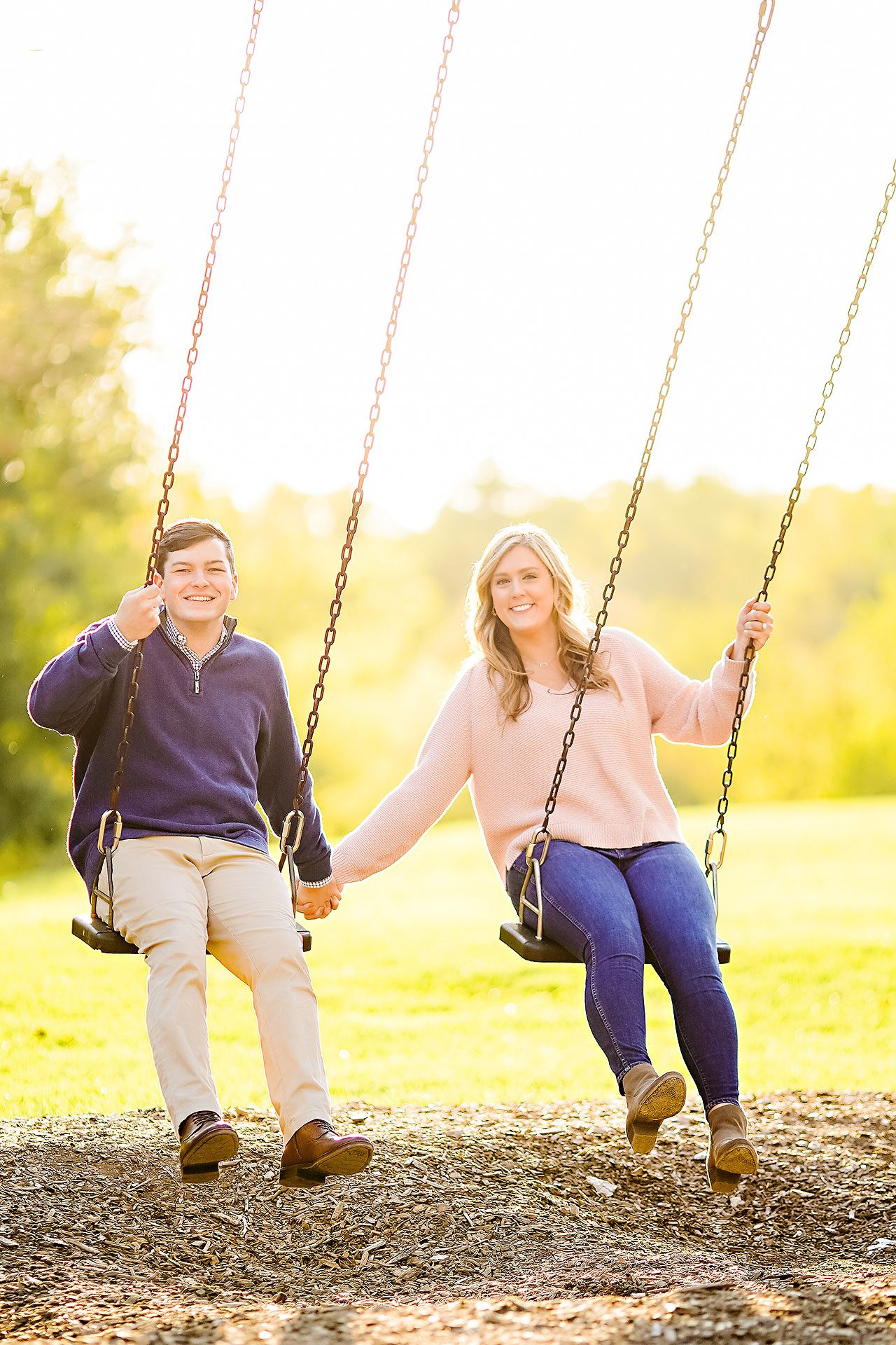 Taylor Case Newfields Engagement Session 130