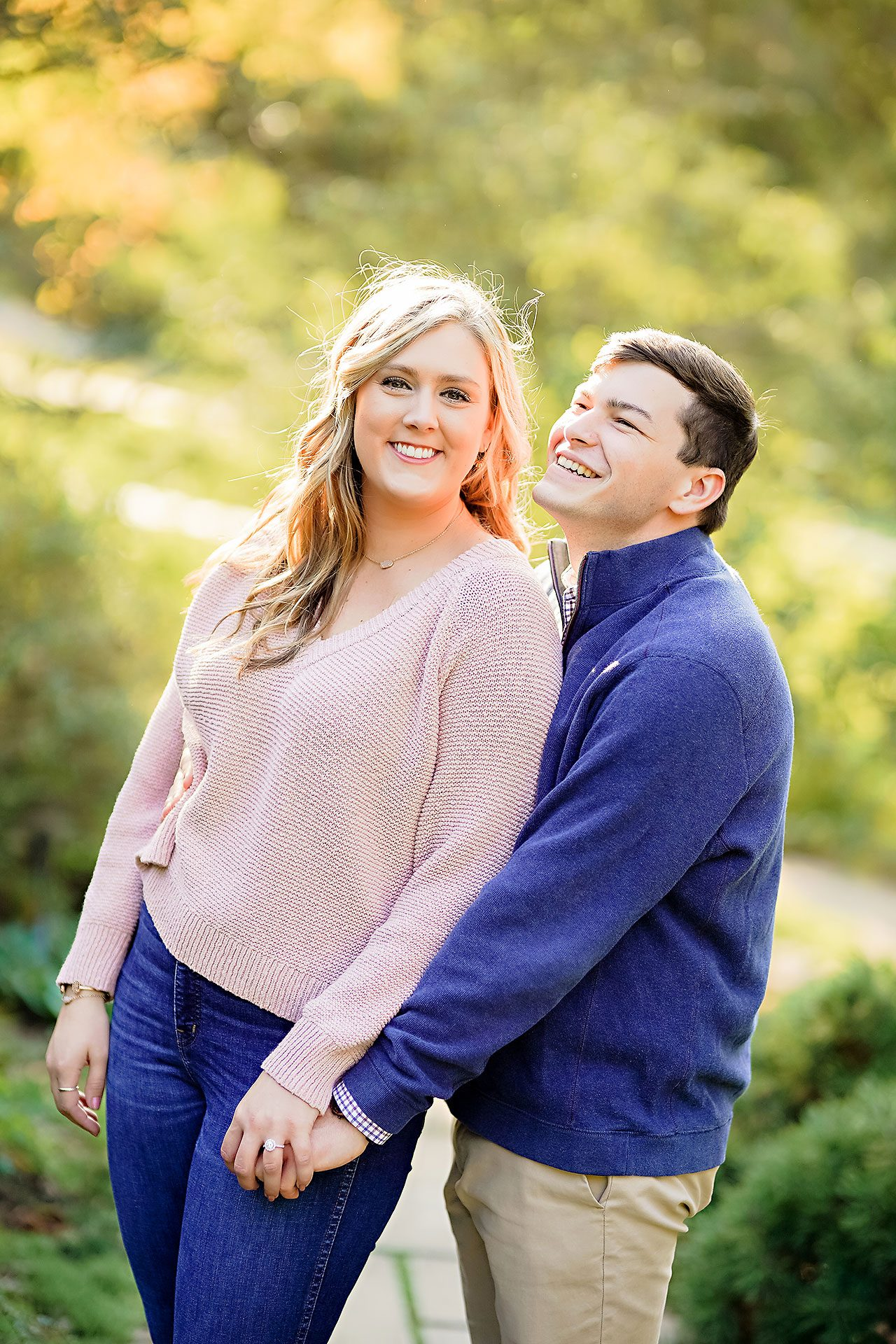 Taylor Case Newfields Engagement Session 133
