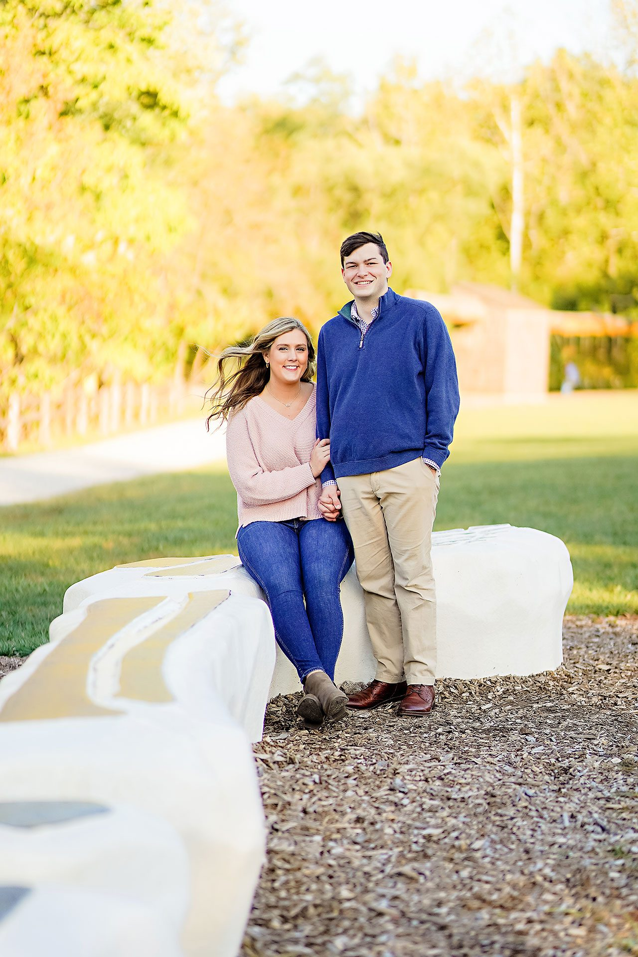 Taylor Case Newfields Engagement Session 135